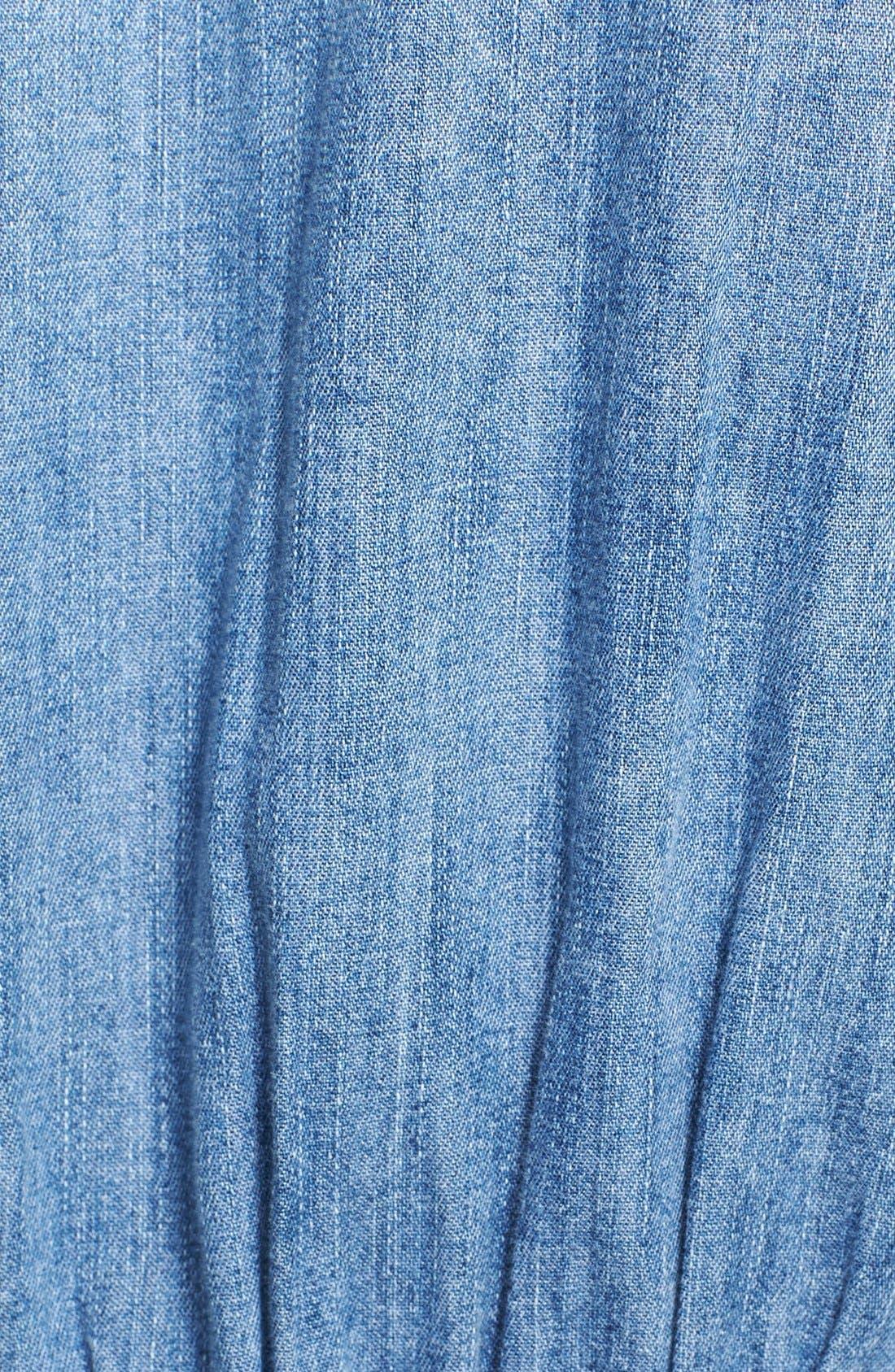 Alternate Image 3  - Current/Elliott 'The Prep School' Denim Shirtdress