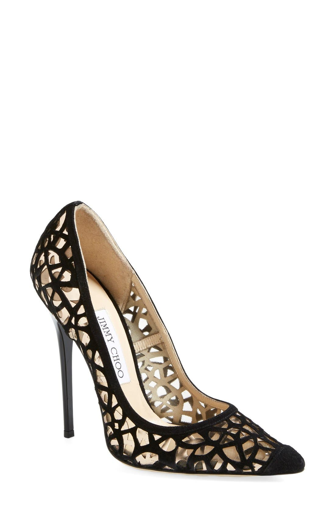 Alternate Image 1 Selected - Jimmy Choo 'Anouk' Pointy Toe Pump (Women)