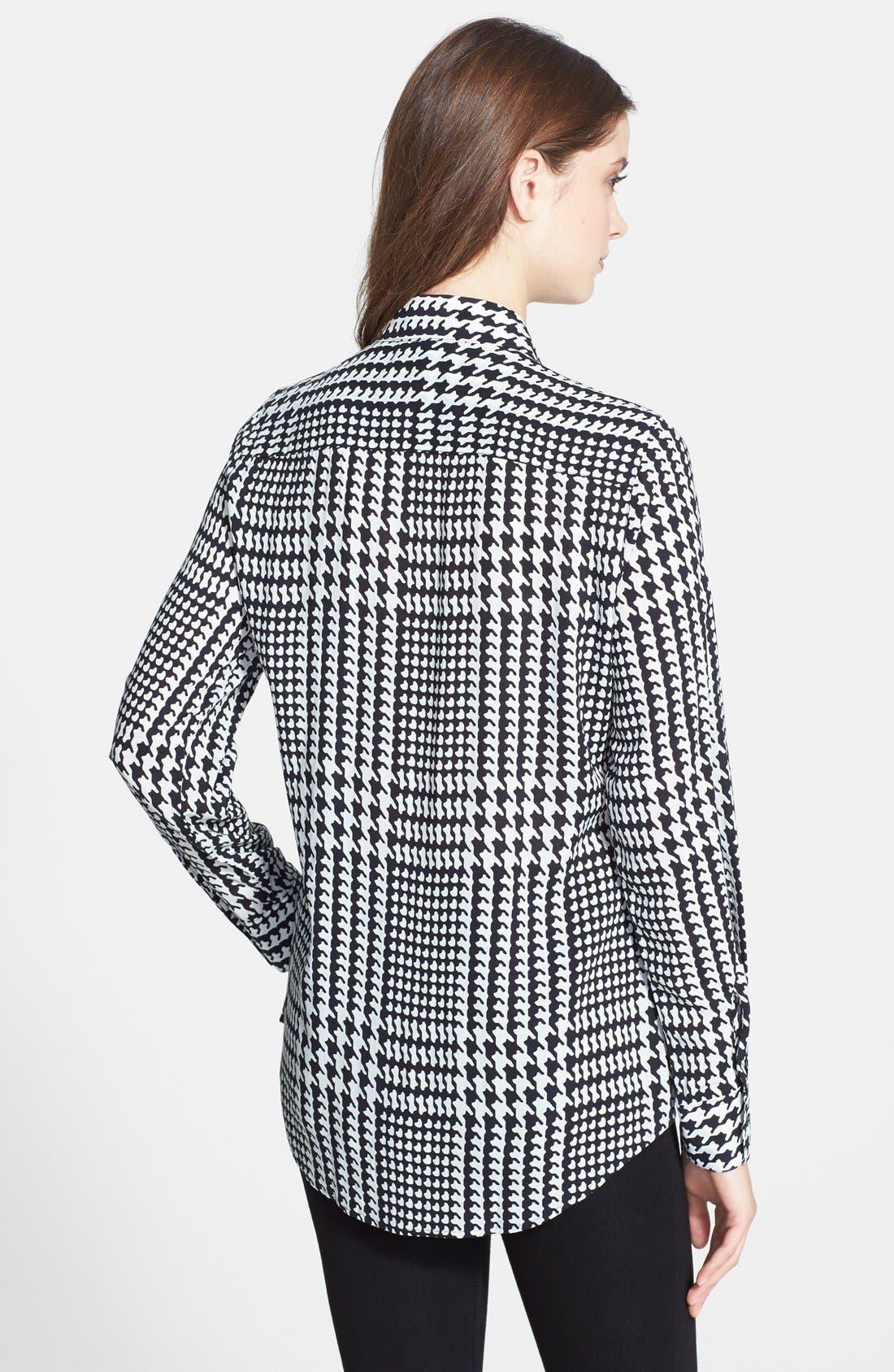 Alternate Image 2  - Foxcroft Glen Plaid Shirt (Regular & Petite)
