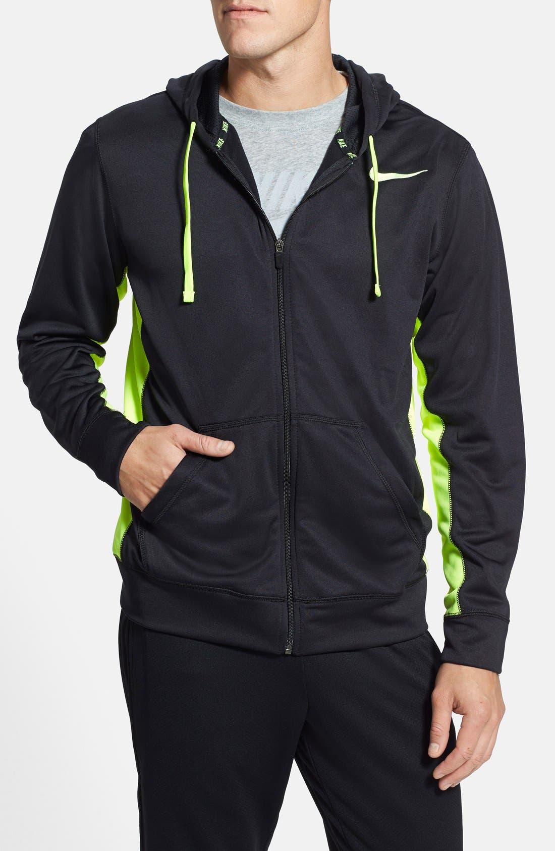 Alternate Image 1 Selected - Nike 'KO' Zip Hoodie