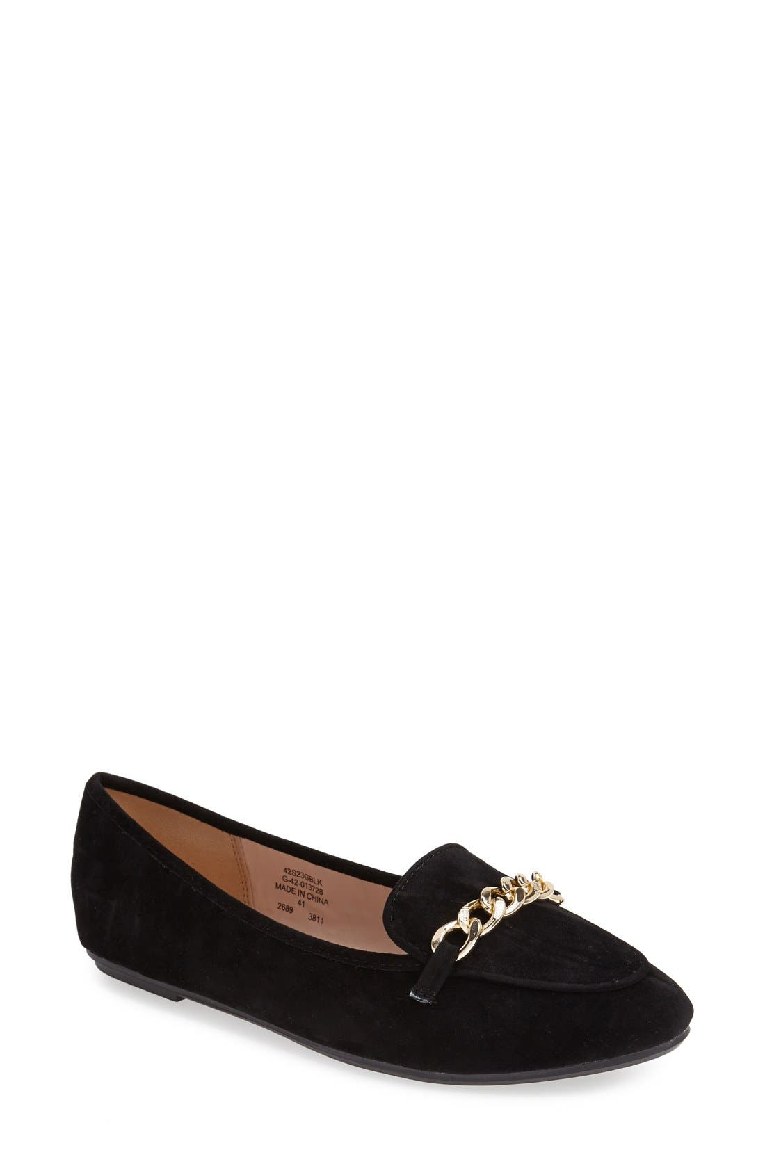 Main Image - Topshop 'Sovereign' Chain Flat (Women)