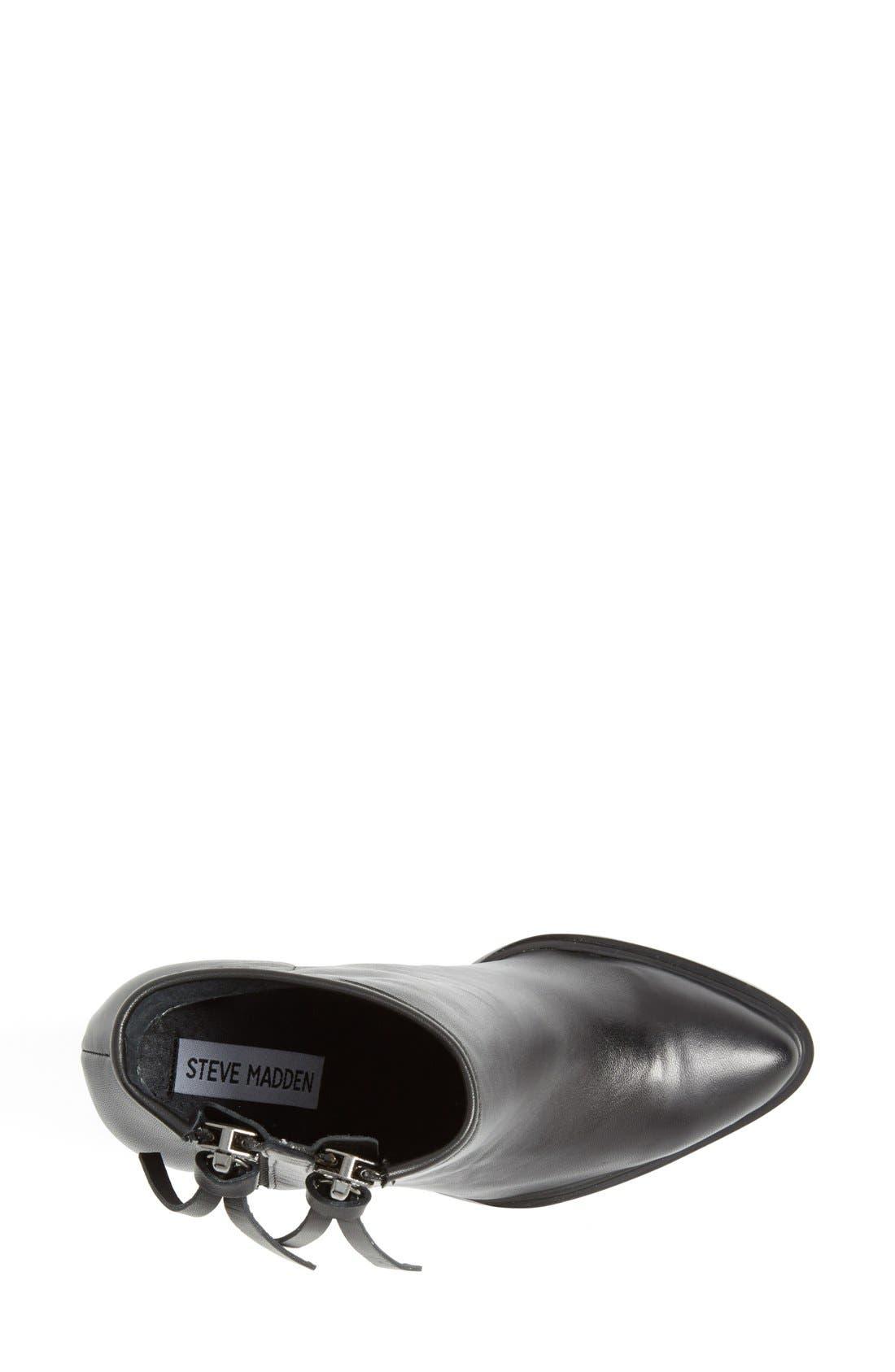 Alternate Image 5  - Steve Madden 'Marando' Pointy Toe Leather Bootie (Women)