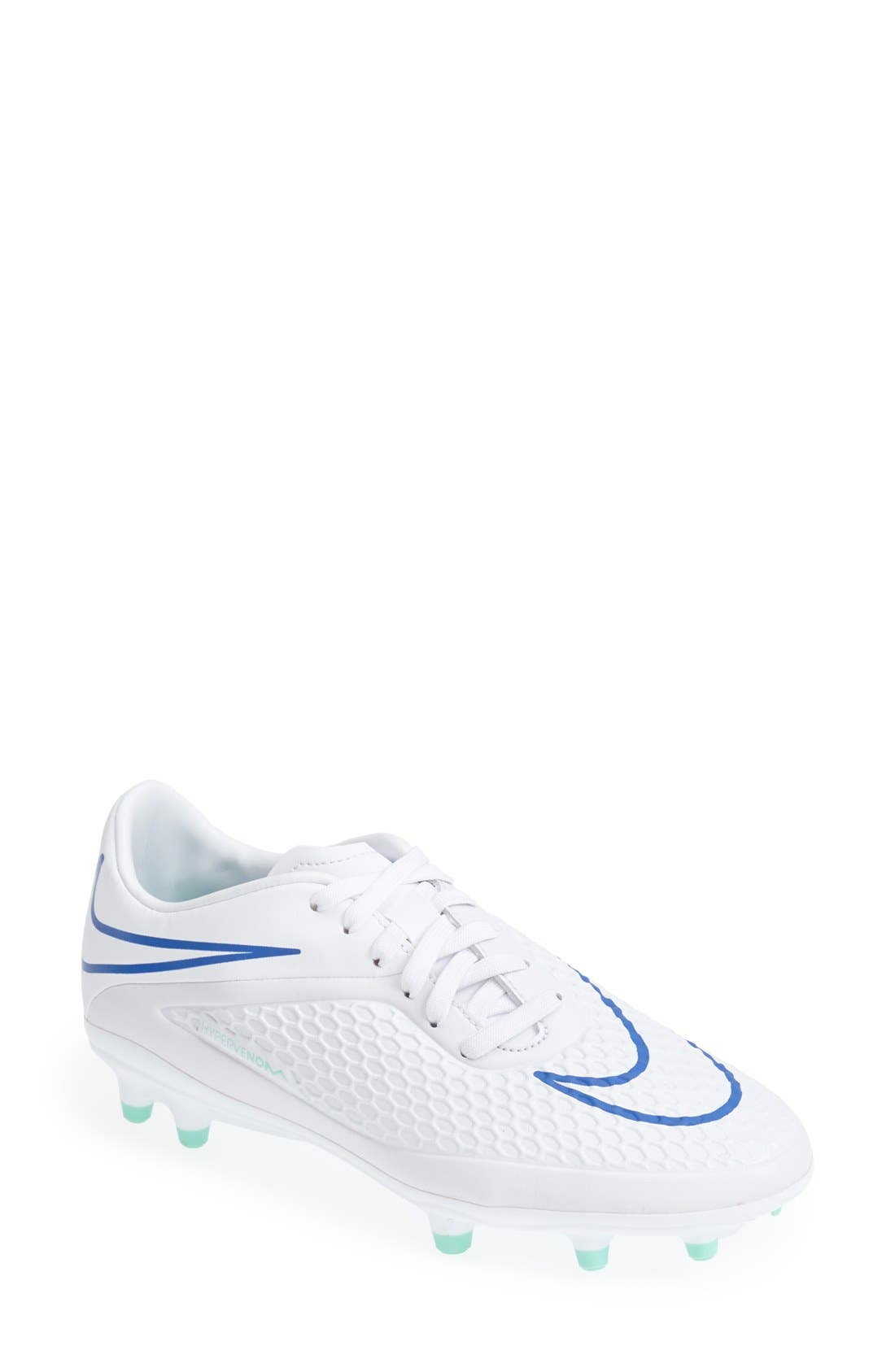 Main Image - Nike 'Hypervenom Phelon' Firm Ground Soccer Cleat (Women)
