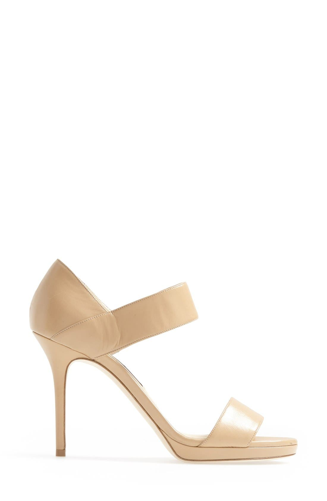 Alternate Image 4  - Jimmy Choo 'Alana' Platform Sandal (Women)