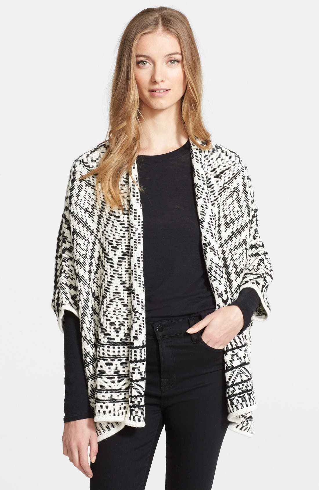 Alternate Image 1 Selected - Joie 'Tosca' Woven Open Cardigan