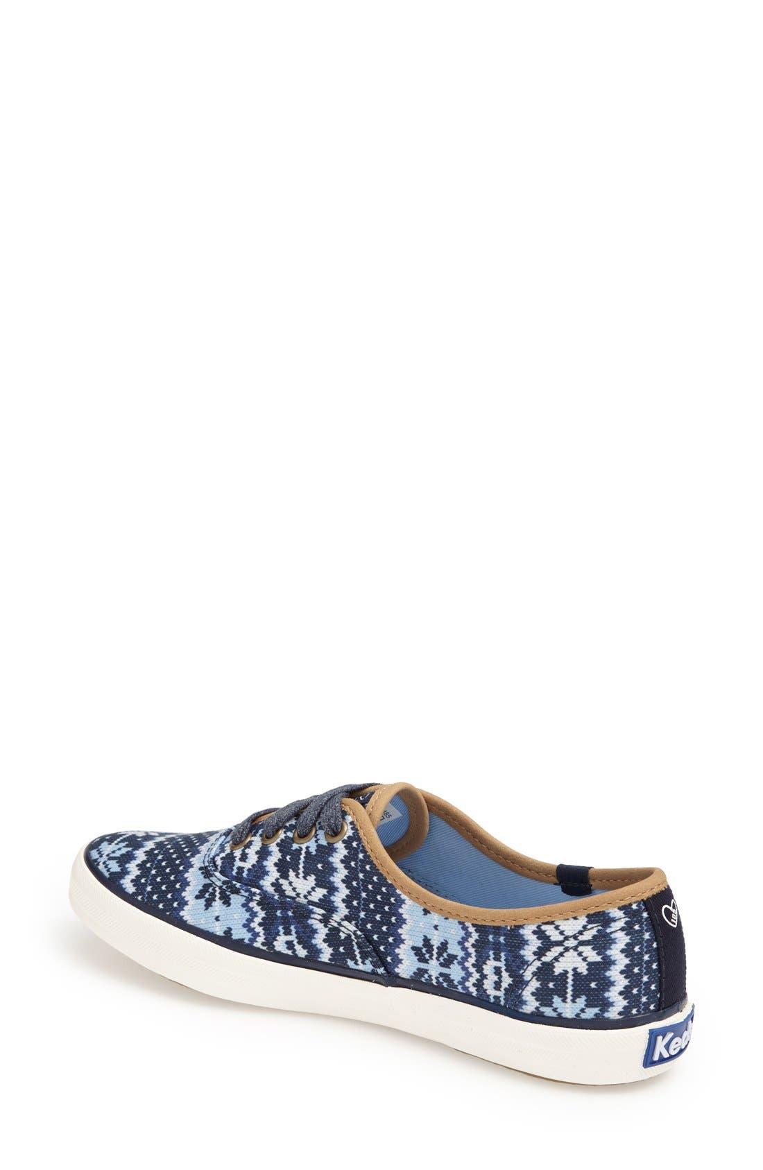 Alternate Image 2  - Keds® Taylor Swift 'Champion - Fair Isle' Sneaker (Women)