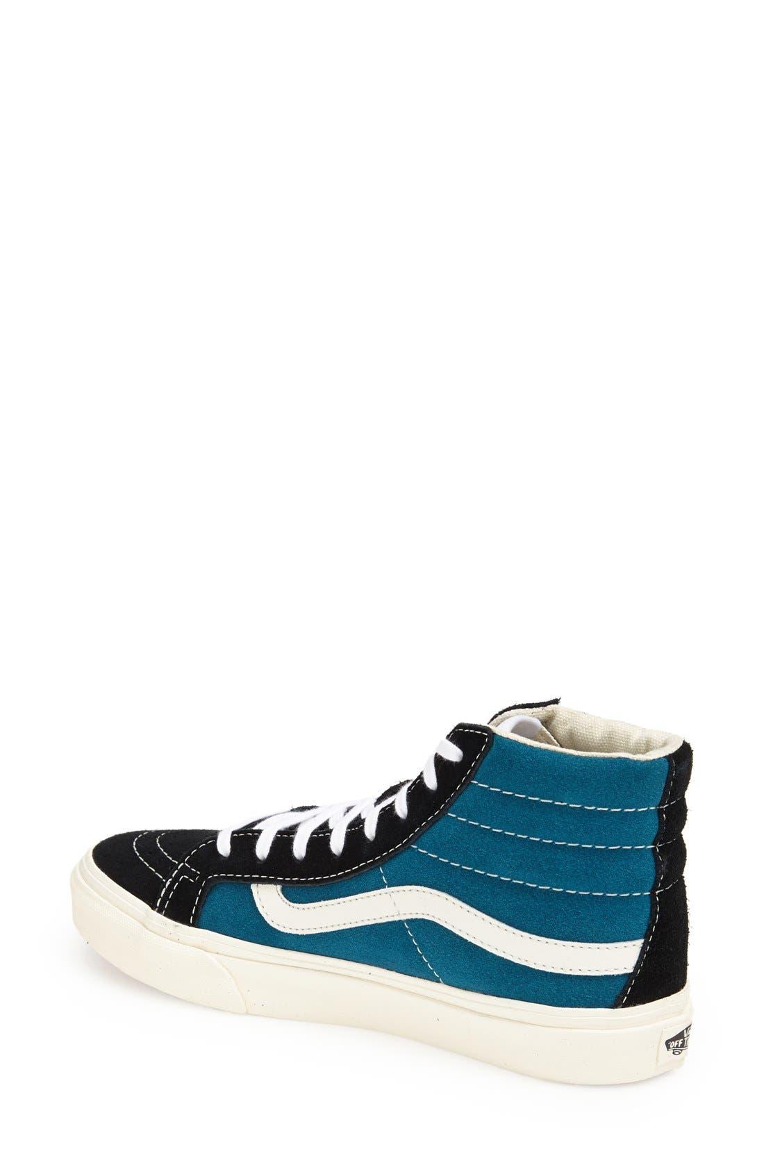 Alternate Image 2  - Vans 'Sk8-Hi Slim' Suede Sneaker (Women)