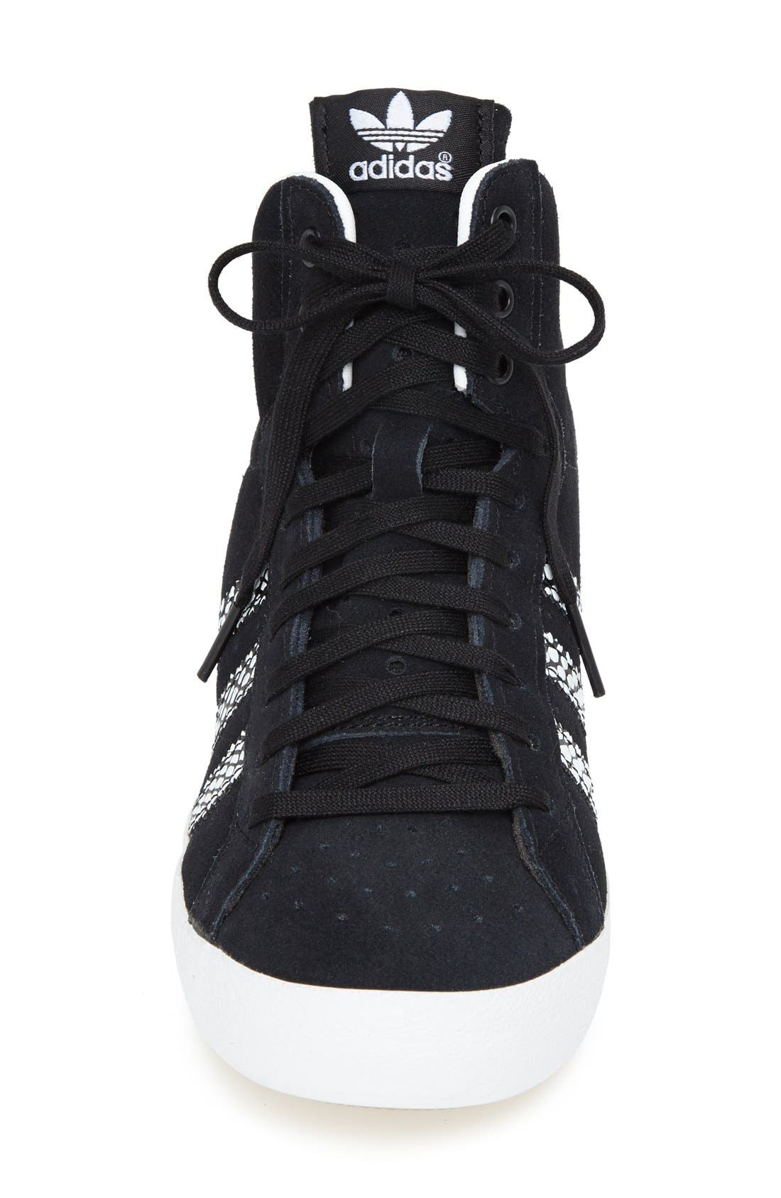 Alternate Image 3  - adidas Hidden Wedge Sneaker (Women)