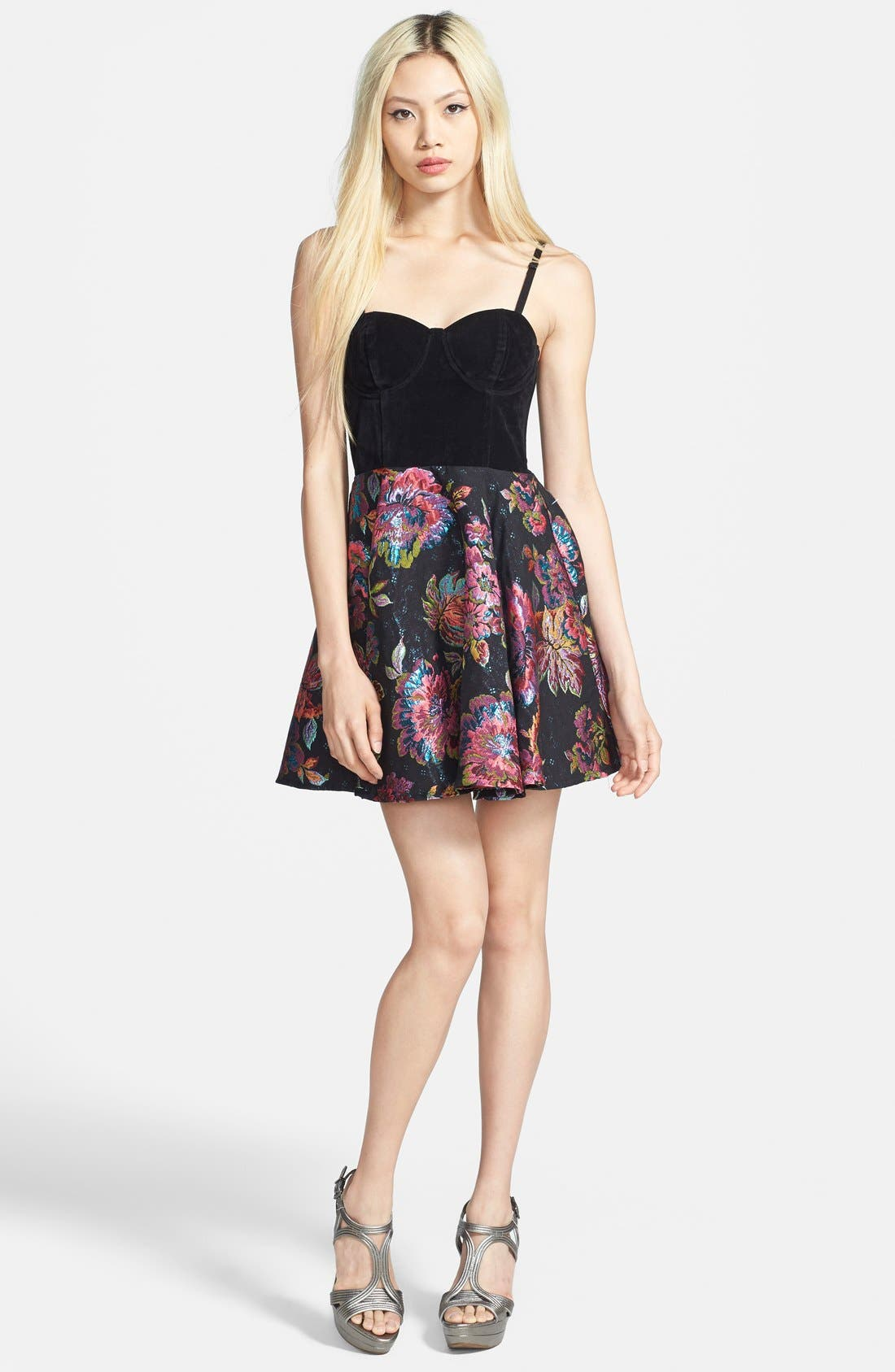 Main Image - MINKPINK 'Tahitian Twilight' Fit & Flare Dress