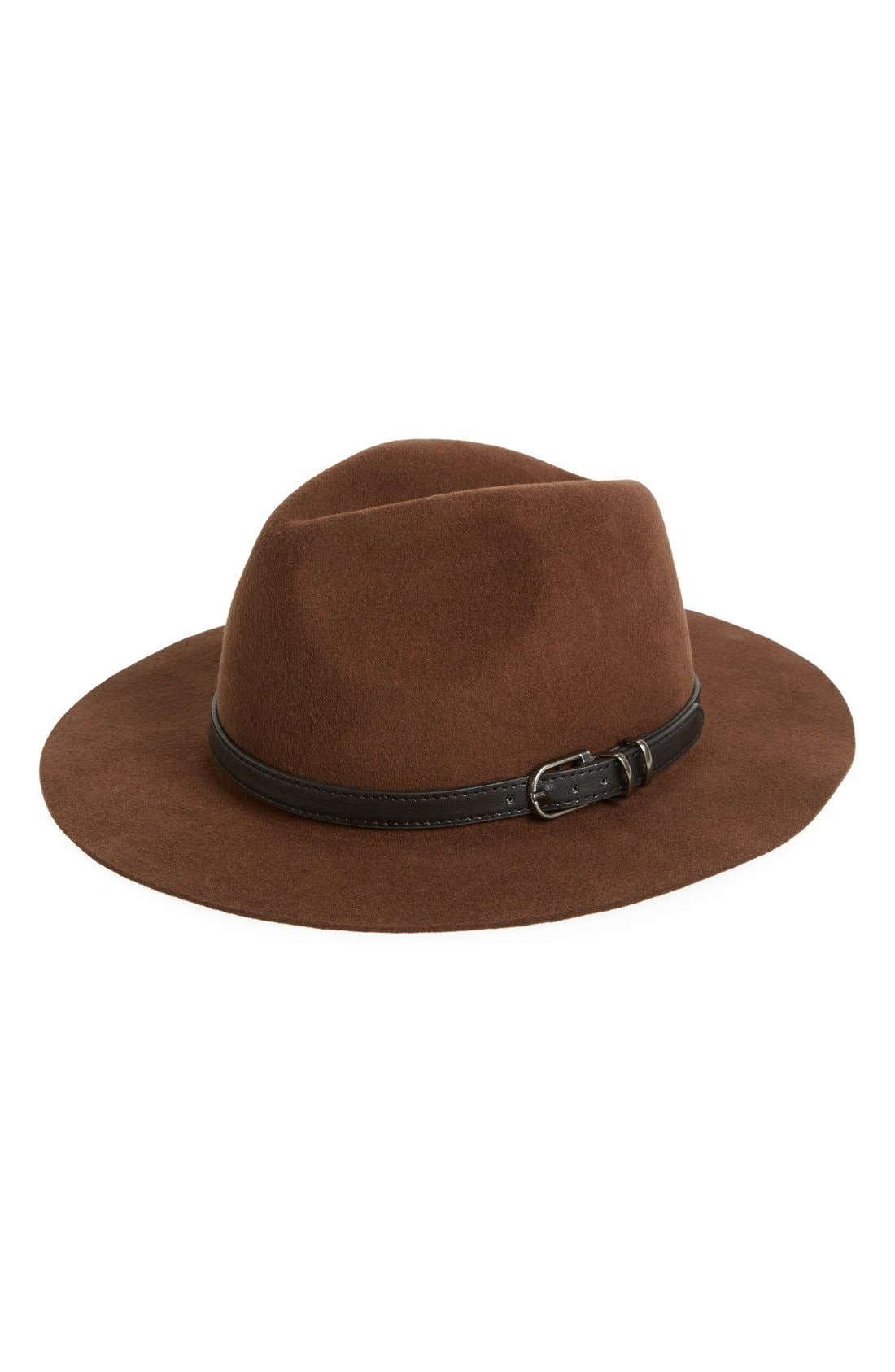 Alternate Image 1 Selected - Sole Society Wool Outback Hat