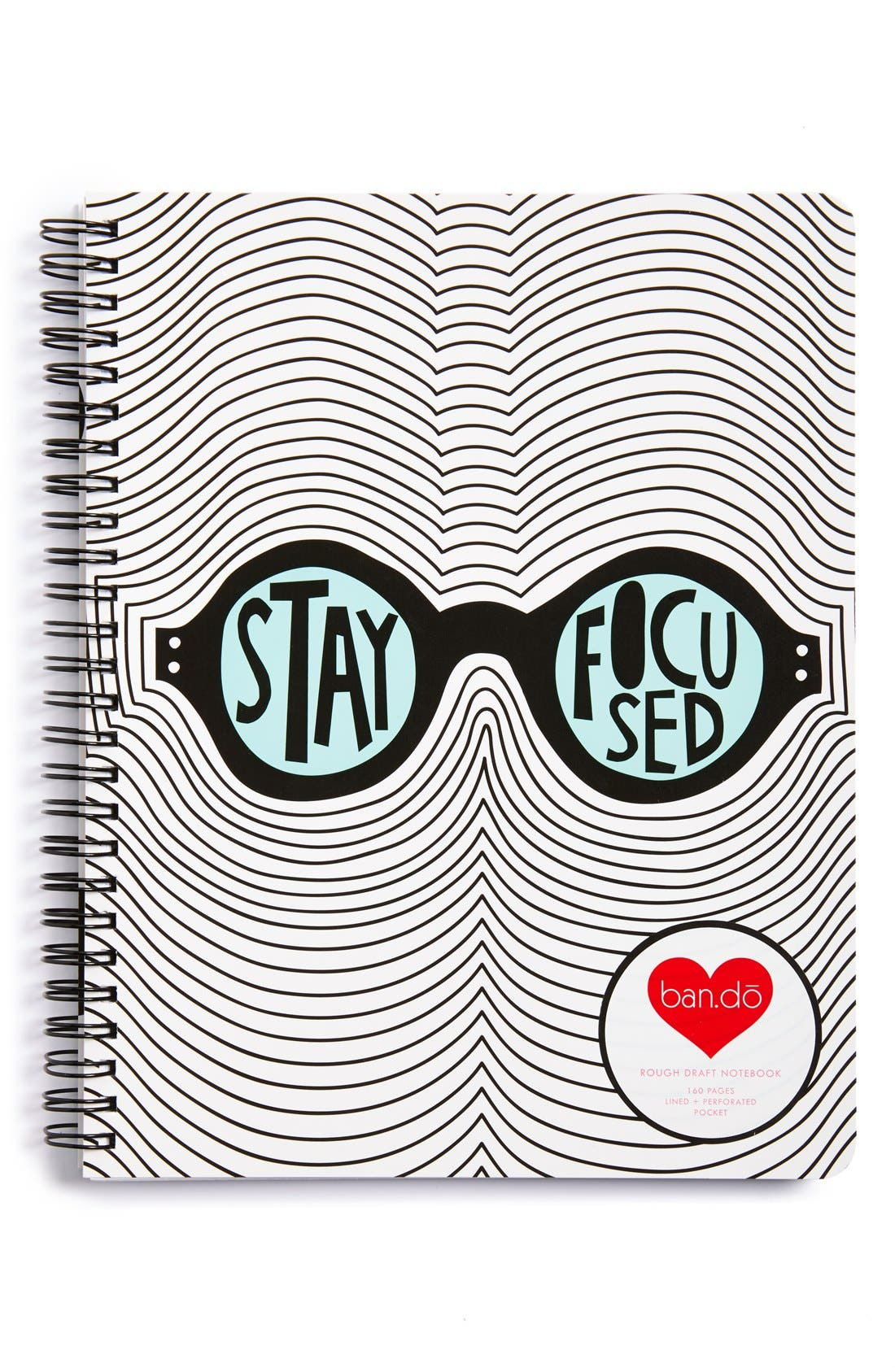 Main Image - ban.do 'Stay Focused' Notebook
