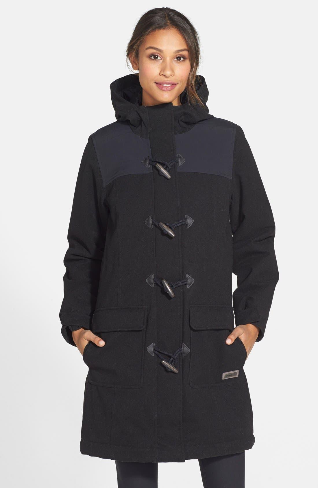 Alternate Image 1 Selected - Merrell 'Haven Redux' Hooded Water Resistant Duffle Coat