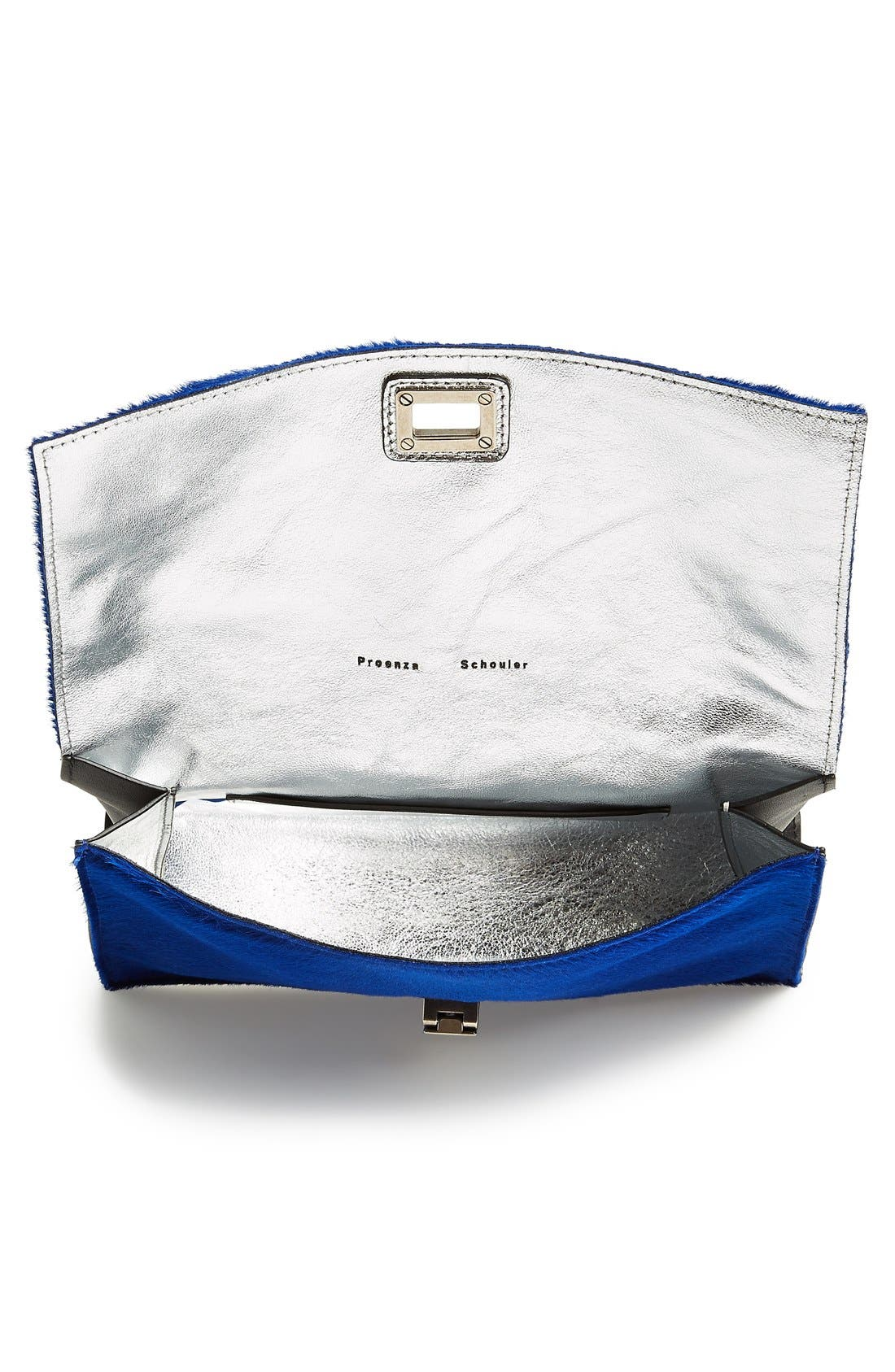 Alternate Image 3  - Proenza Schouler 'Lunch Bag - Small' Shearling & Leather Clutch