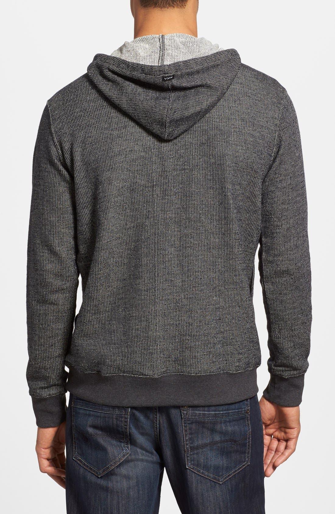 Alternate Image 2  - RVCA 'Capo' Pullover Knit Hoodie