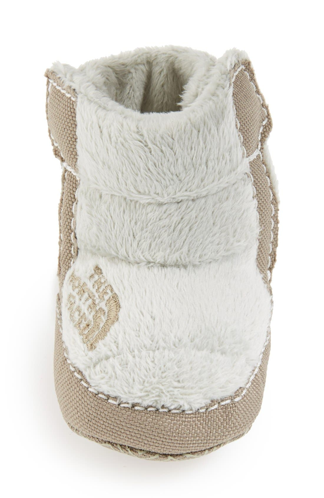 Alternate Image 3  - The North Face Fleece Bootie (Baby & Walker)