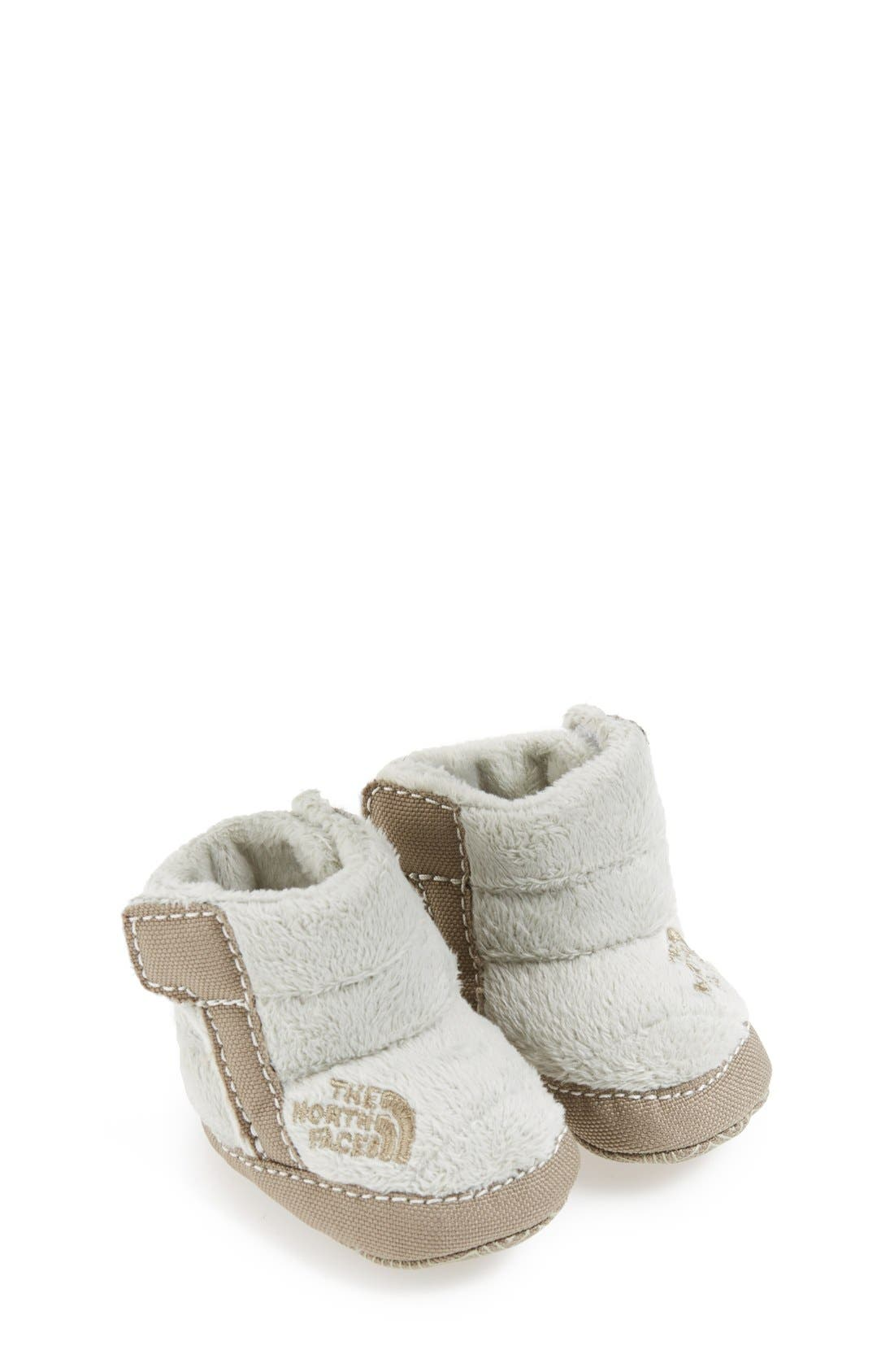 Alternate Image 1 Selected - The North Face Fleece Bootie (Baby & Walker)