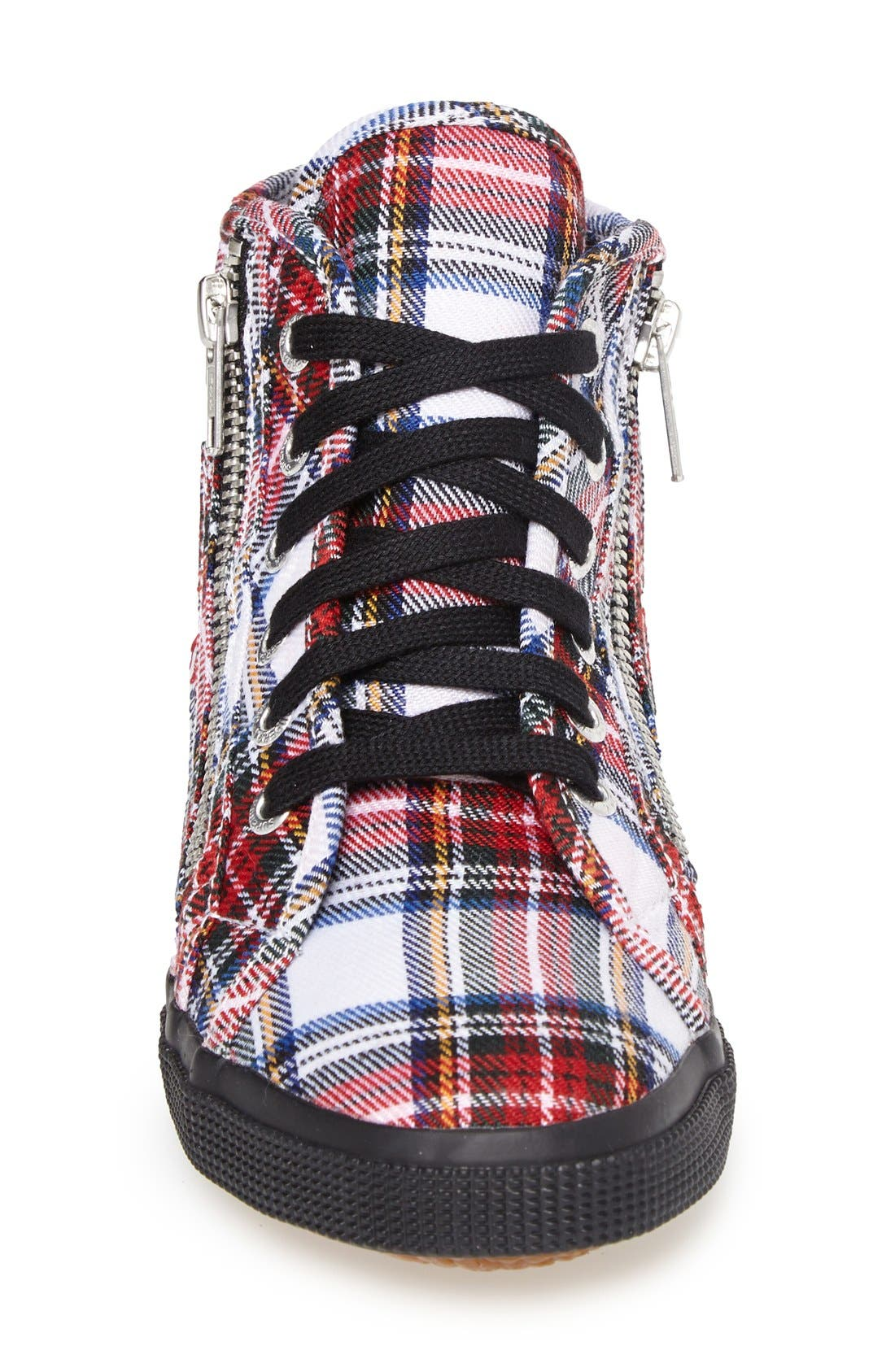 Alternate Image 3  - Superga Tartan Print High-Top Sneaker (Women)