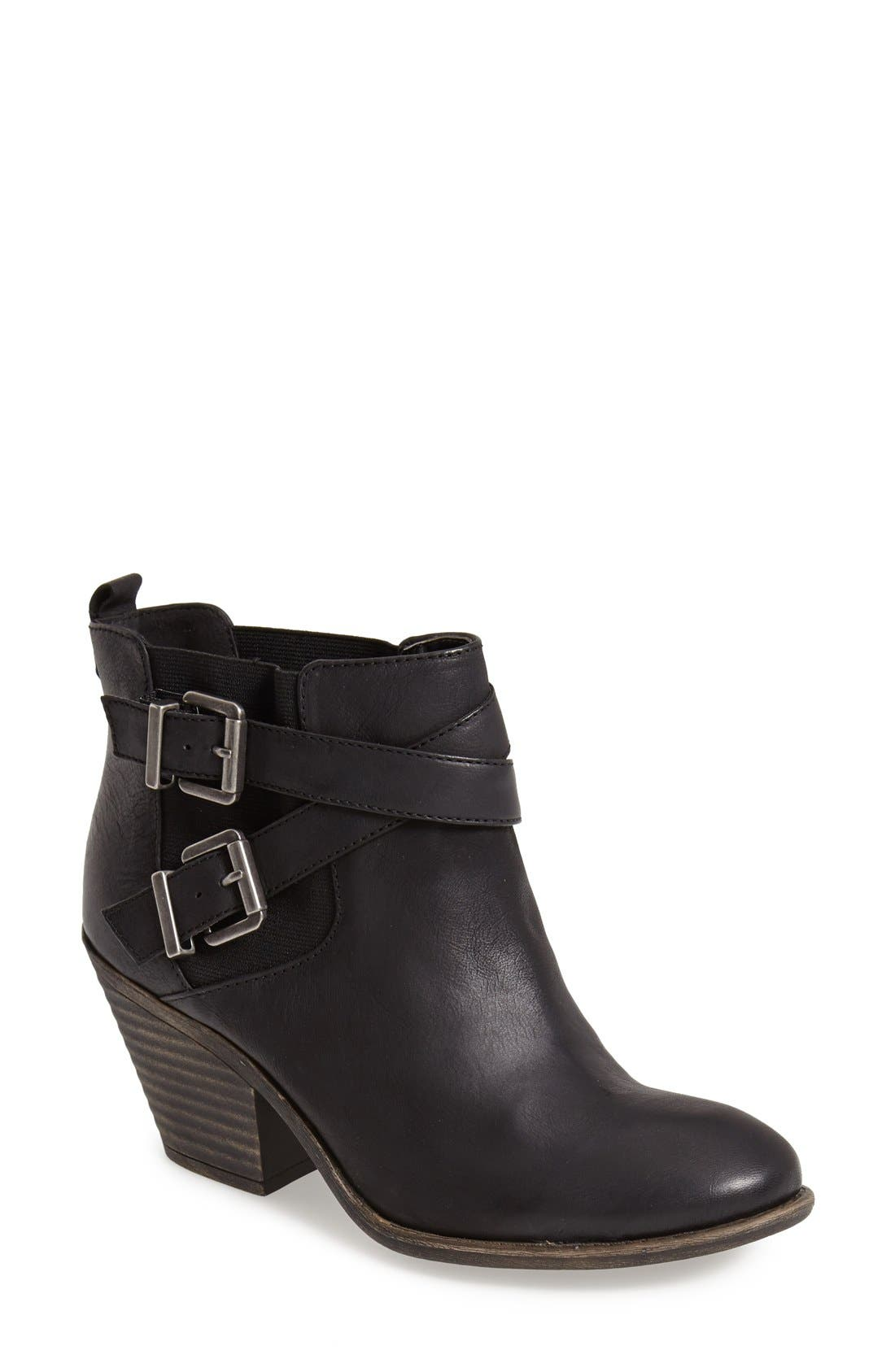 Alternate Image 1 Selected - Sole Society 'Maris' Leather Bootie (Women)