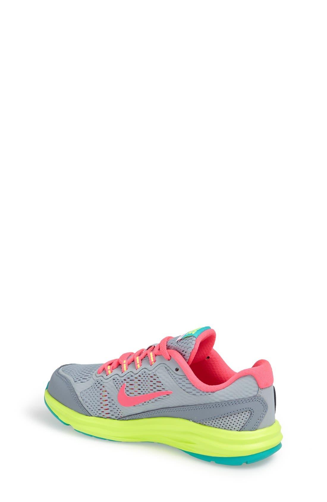 Alternate Image 2  - Nike 'Dual Fusion Run' Athletic Shoe (Toddler & Little Kid)