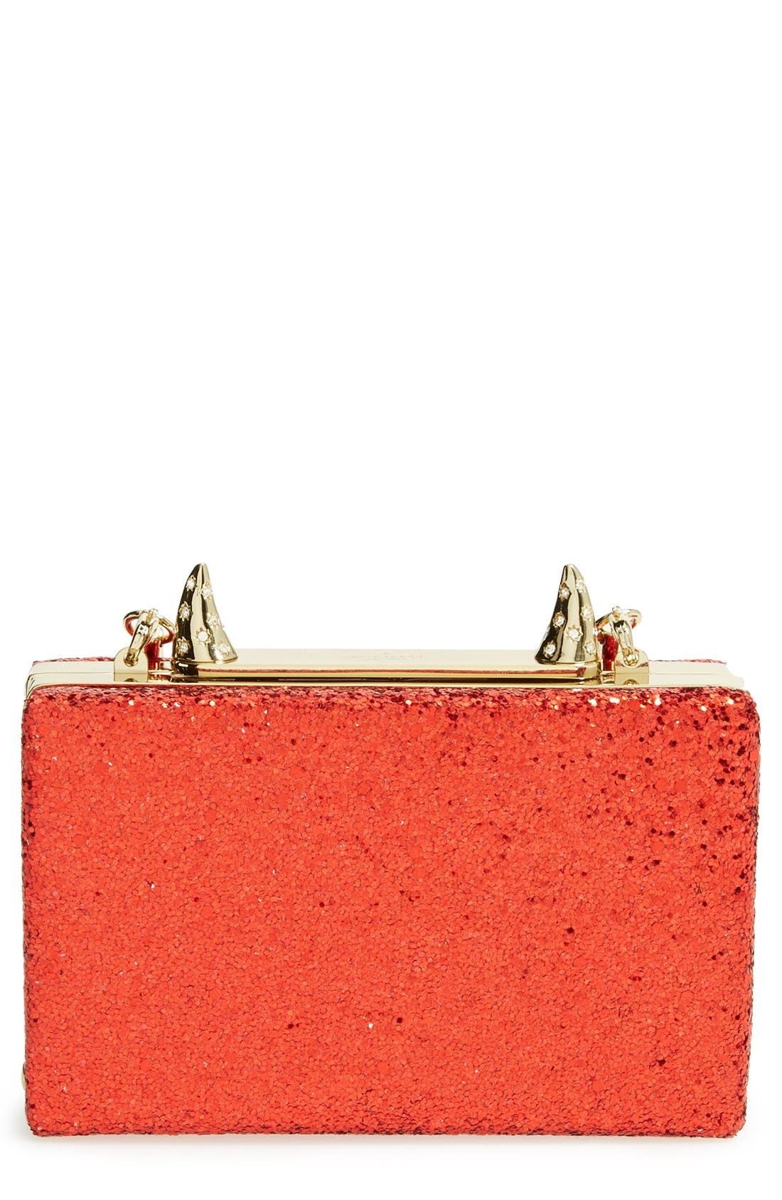 Main Image - kate spade new york 'place your bets - ravi' box clutch