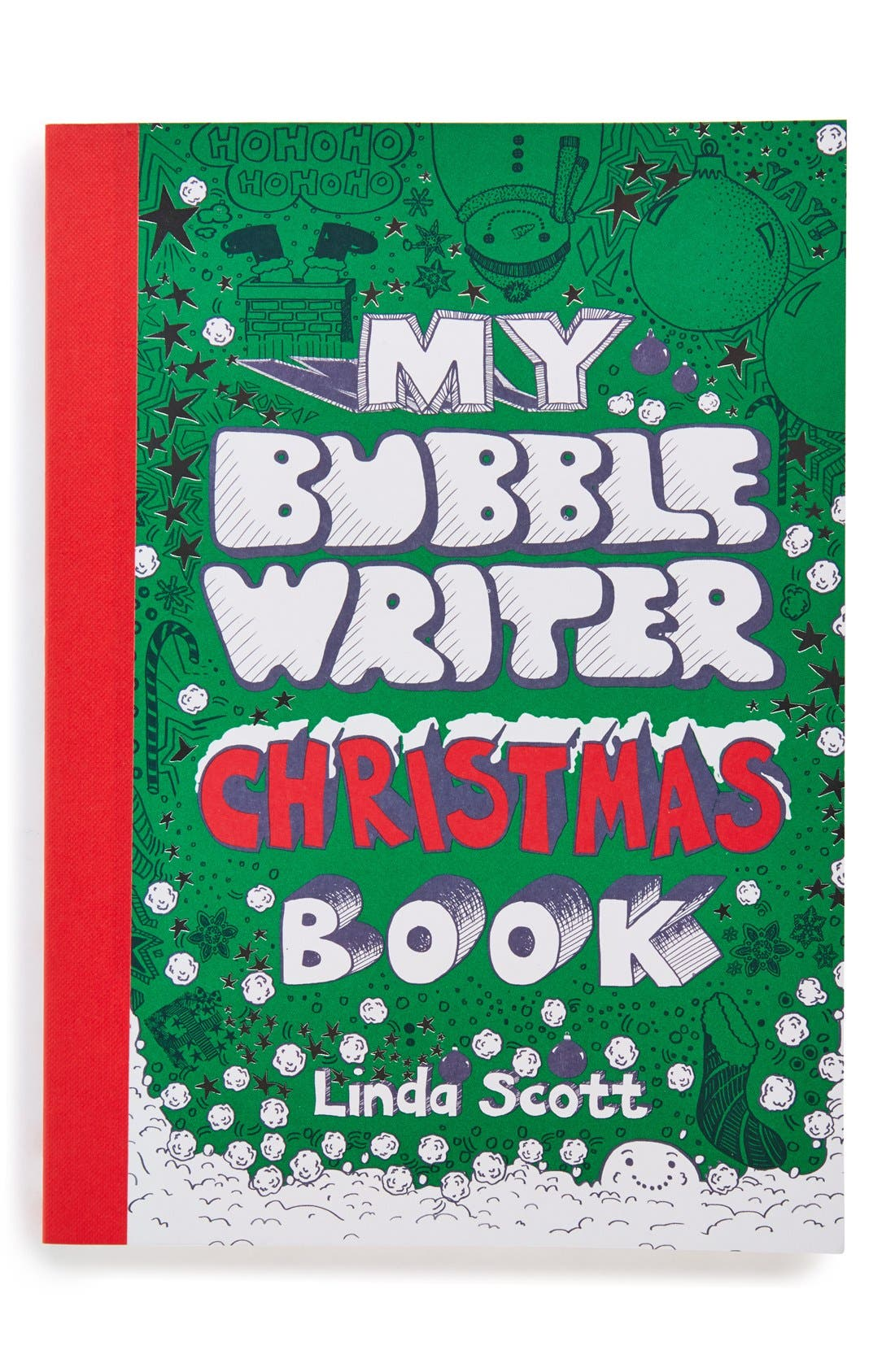 Alternate Image 1 Selected - 'My Bubble Writer Christmas Book'