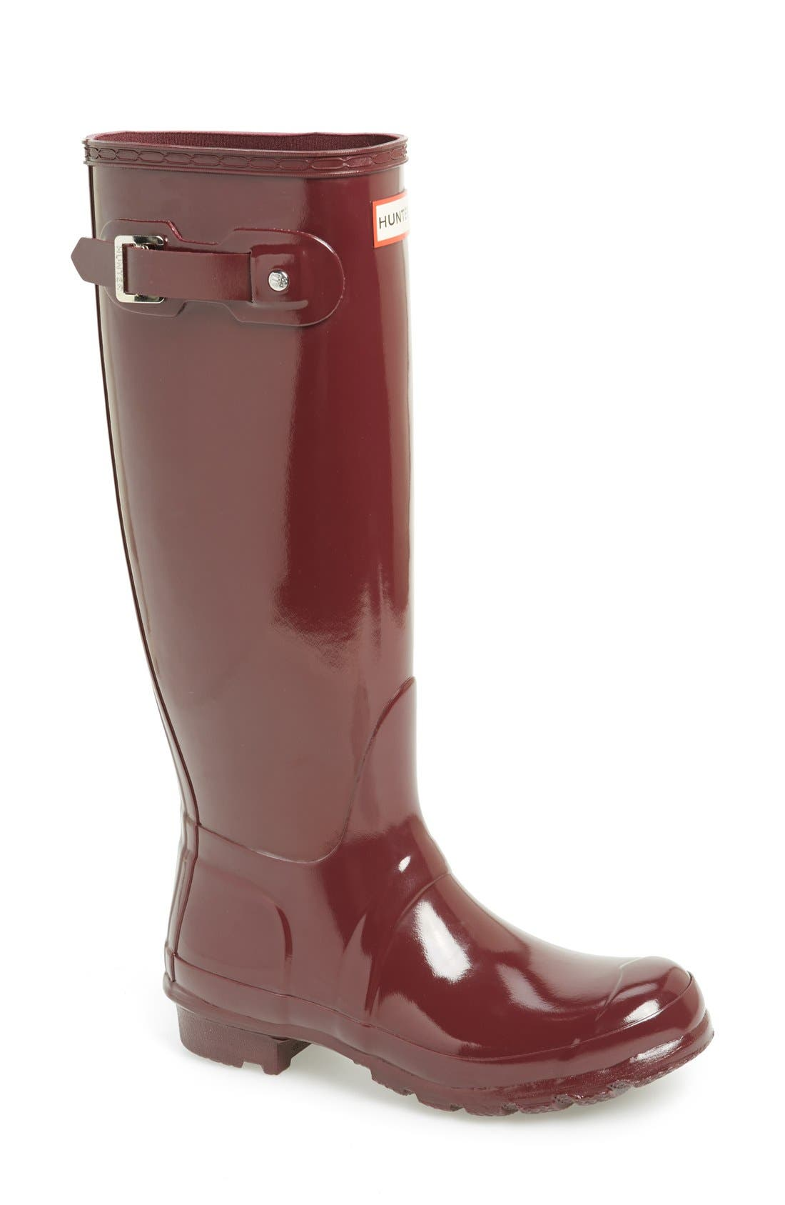Alternate Image 1 Selected - Hunter Original High Gloss Boot (Women)