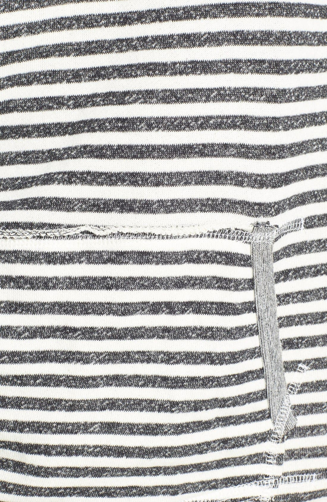 Alternate Image 3  - Volcom 'Front Page' Stripe French Terry Pullover