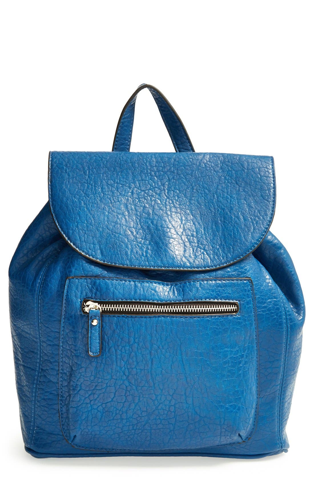 Alternate Image 1 Selected - kensie 'Perfectly Pebbled' Faux Leather Backpack