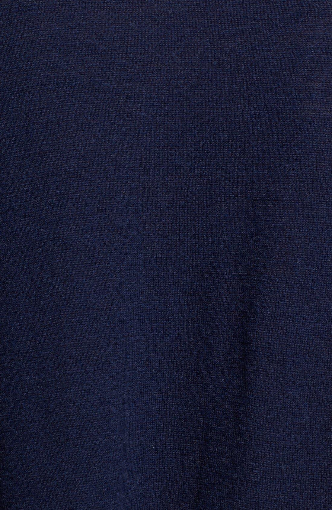 Alternate Image 3  - autumn cashmere Drop Shoulder Asymmetrical Cashmere Sweater