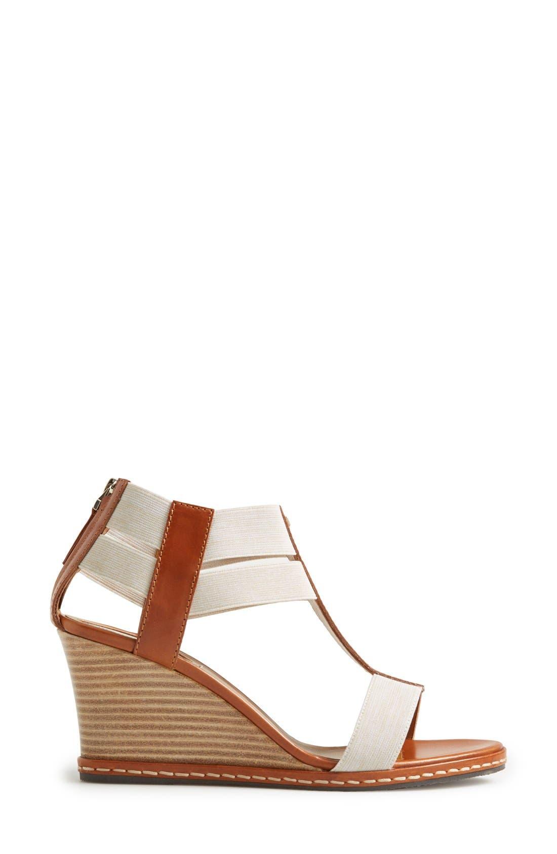 Alternate Image 4  - Fendi 'Carioca' Wedge Sandal (Women)