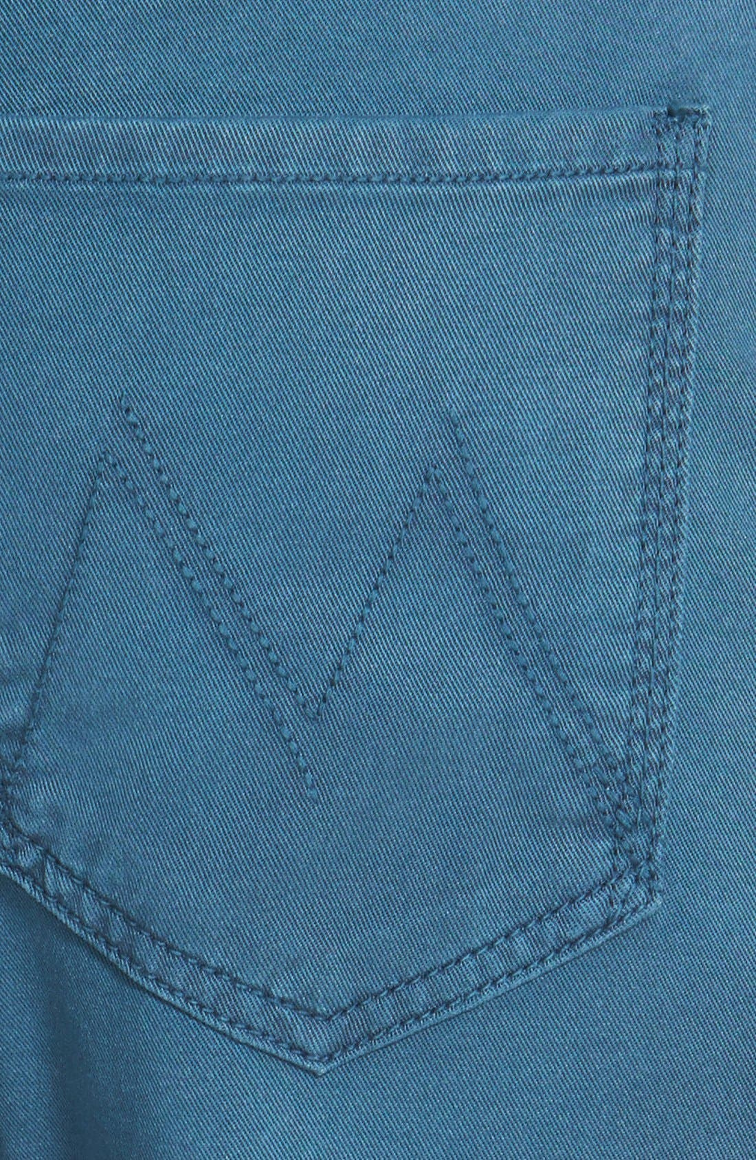Alternate Image 3  - MOTHER 'The Dropout' Crop Boyfriend Jeans (Lake)