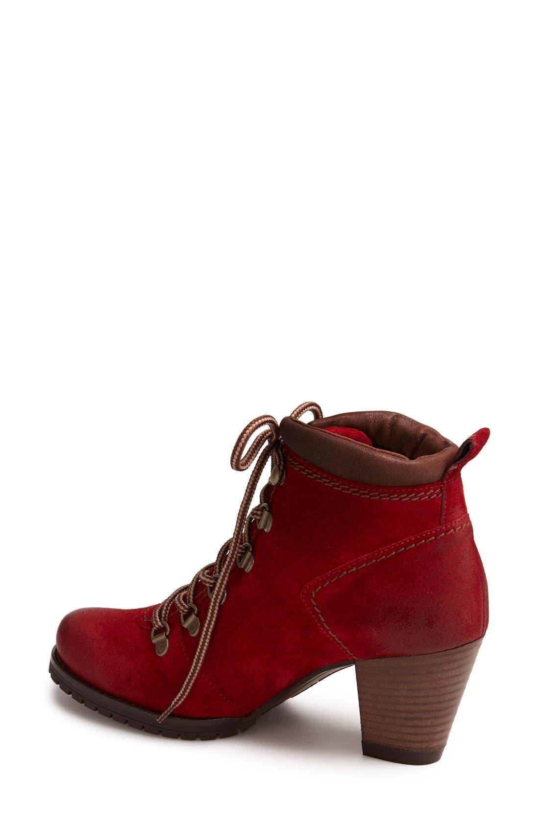 Alternate Image 2  - Paul Green 'Boise' Leather Bootie (Women)