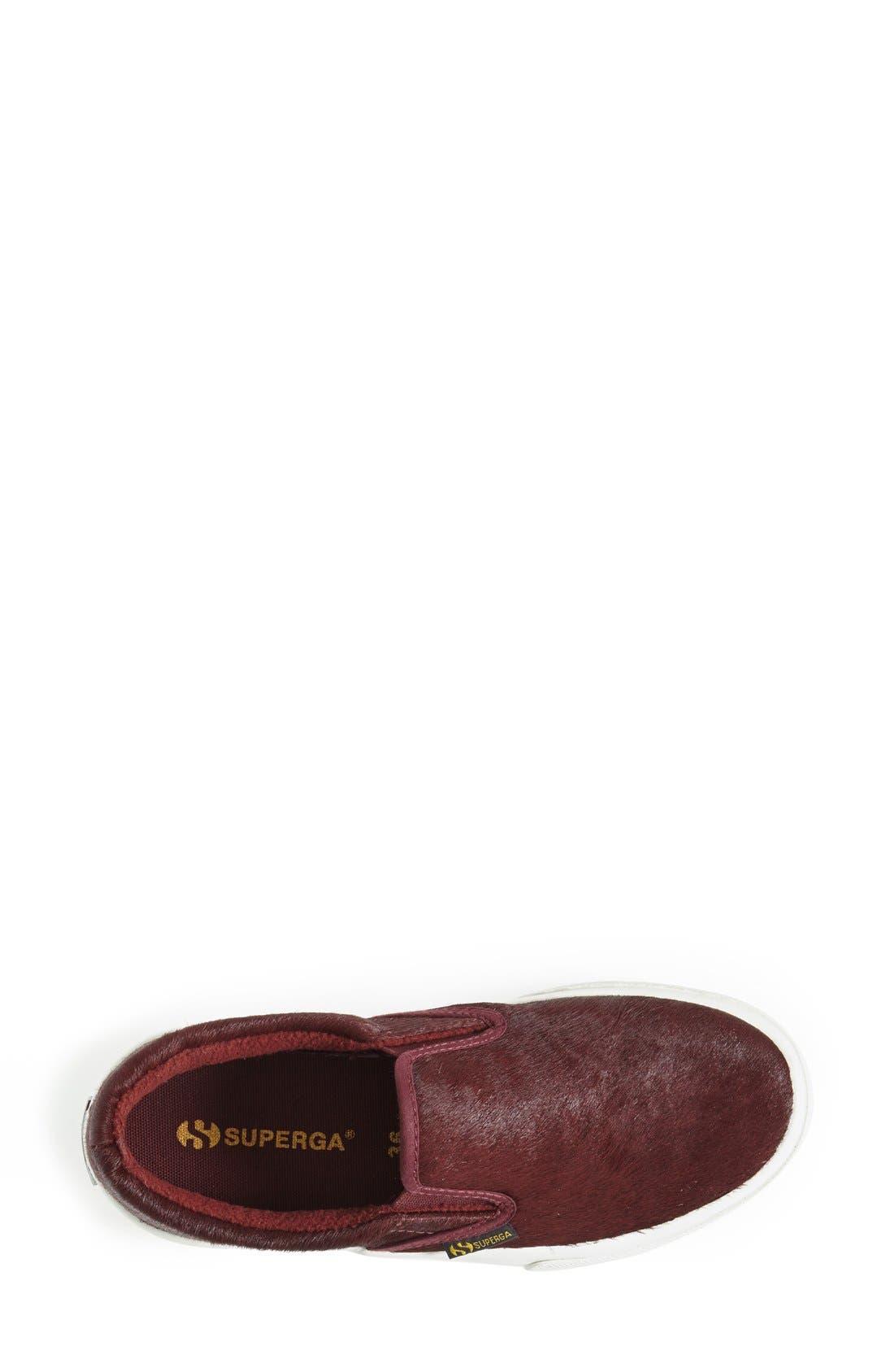 Alternate Image 3  - Superga Calf Hair Slip-On Sneaker (Women)