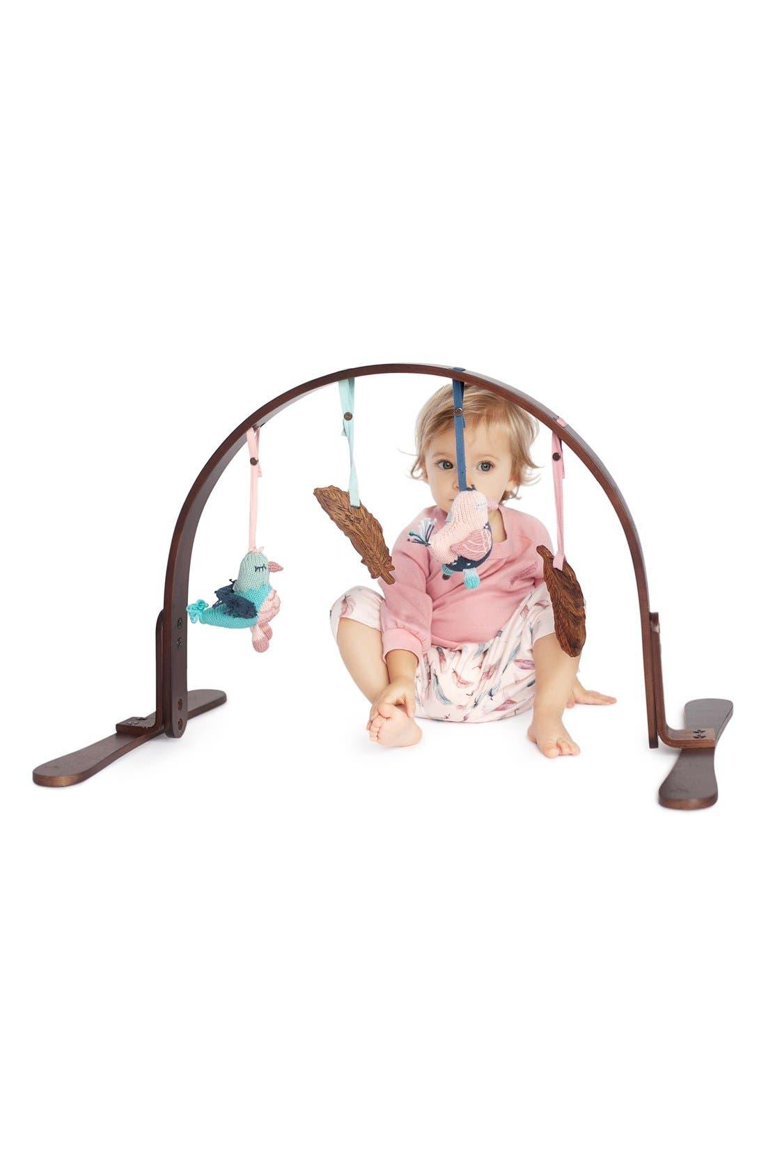 Alternate Image 2  - Finn + Emma Wooden Jungle Play Gym