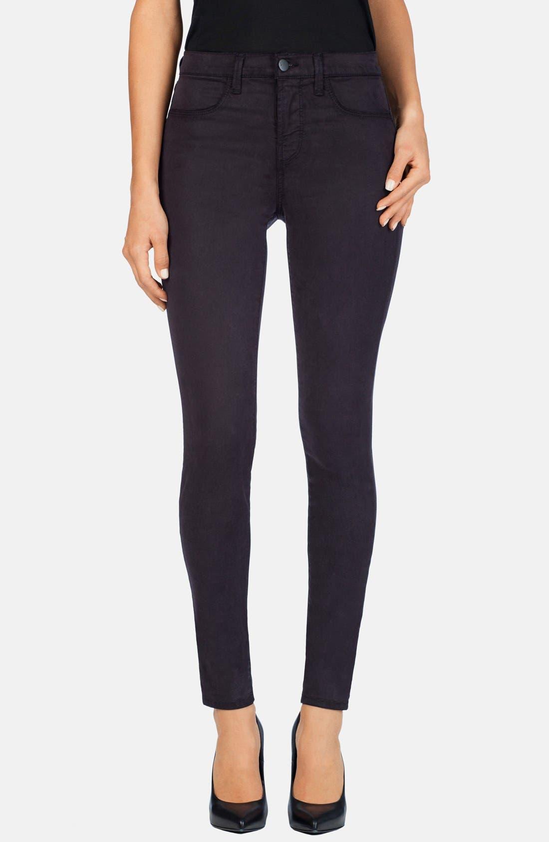 Alternate Image 1 Selected - J Brand '485' Mid Rise Super Skinny Jeans