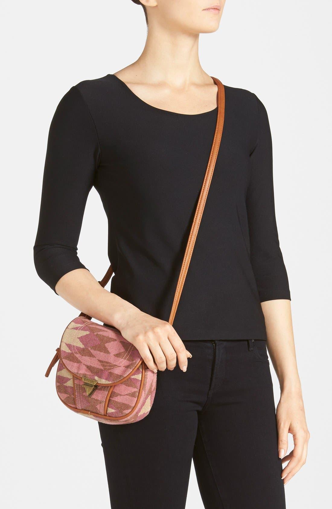 Alternate Image 2  - Rip Curl Geo Crossbody Bag