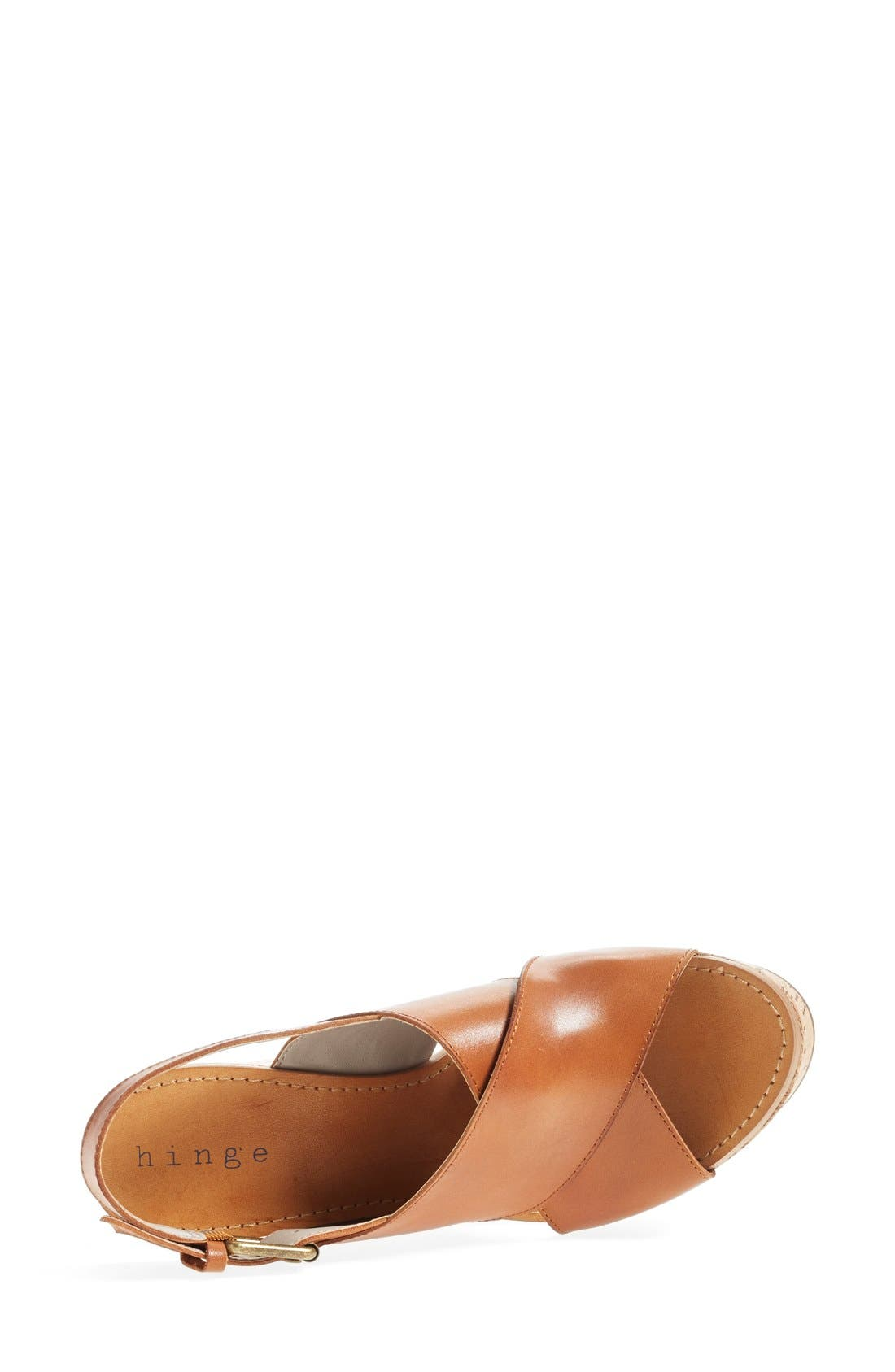 Alternate Image 3  - Hinge 'Hannah' Wedge Sandal (Women)