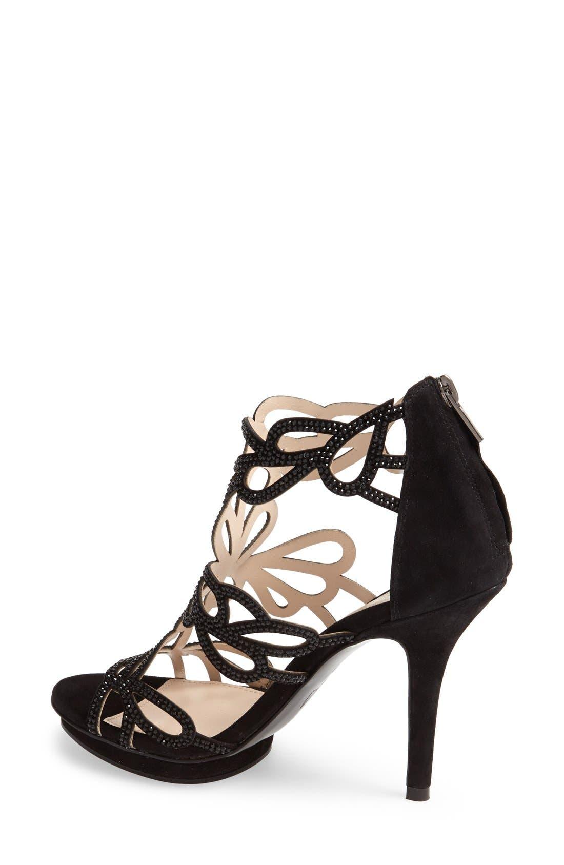 Alternate Image 2  - Pelle Moda 'Ripley' Suede Platform Sandal (Women)