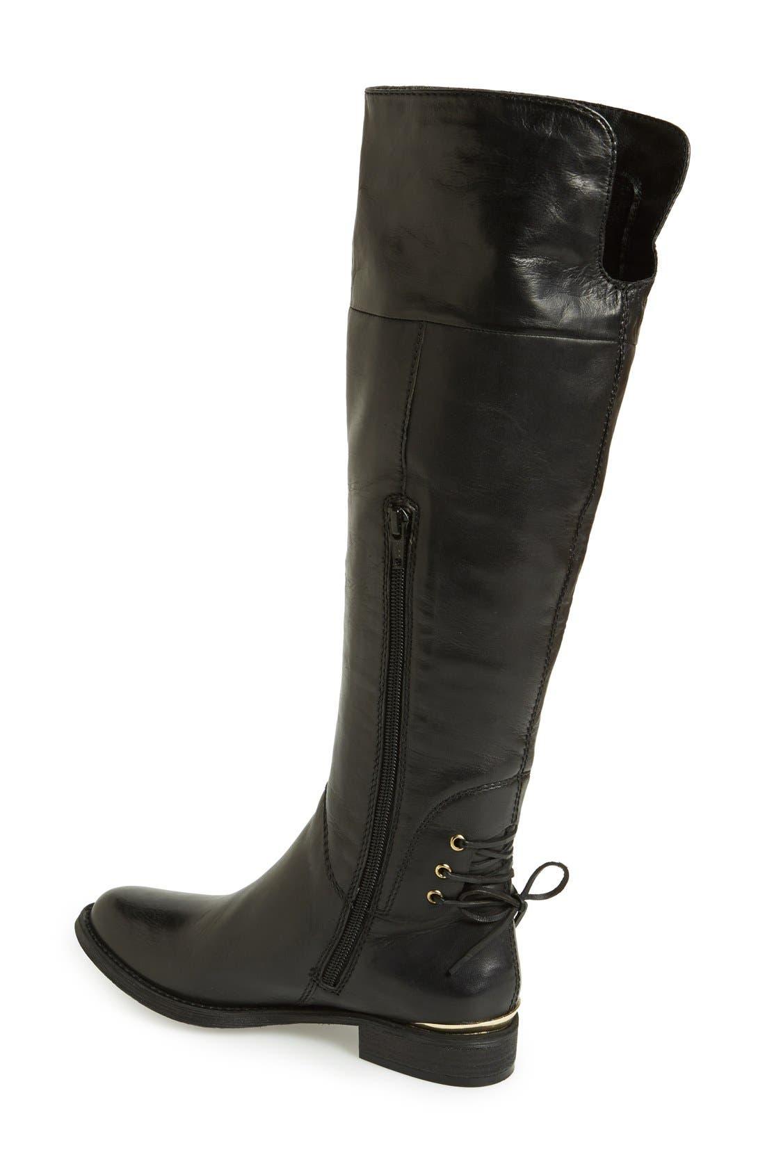 Alternate Image 2  - Steve Madden 'Nerves' Over the Knee Leather Boot (Women)