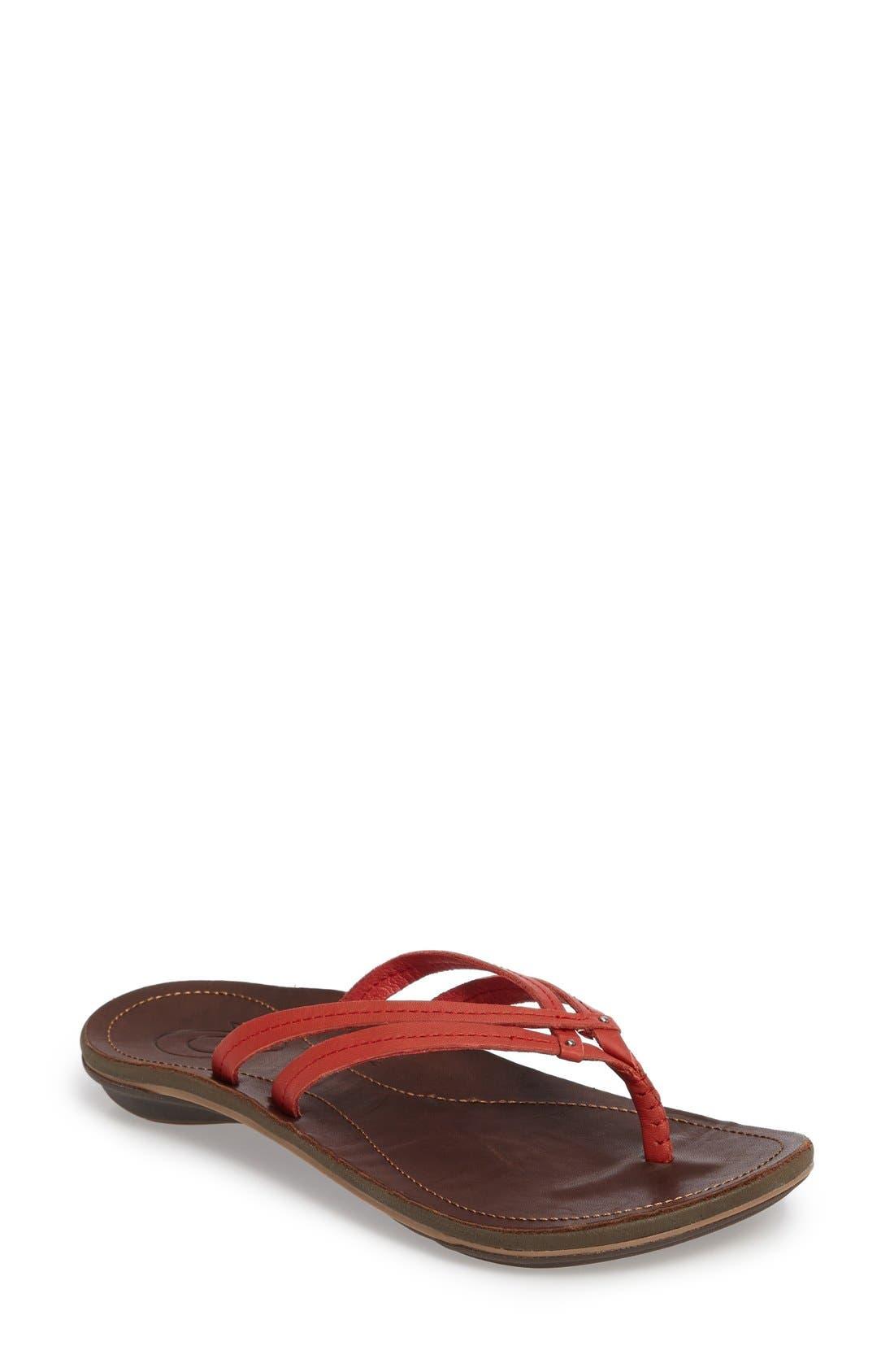 Alternate Image 1 Selected - OluKai 'U'i' Thong Sandal (Women)