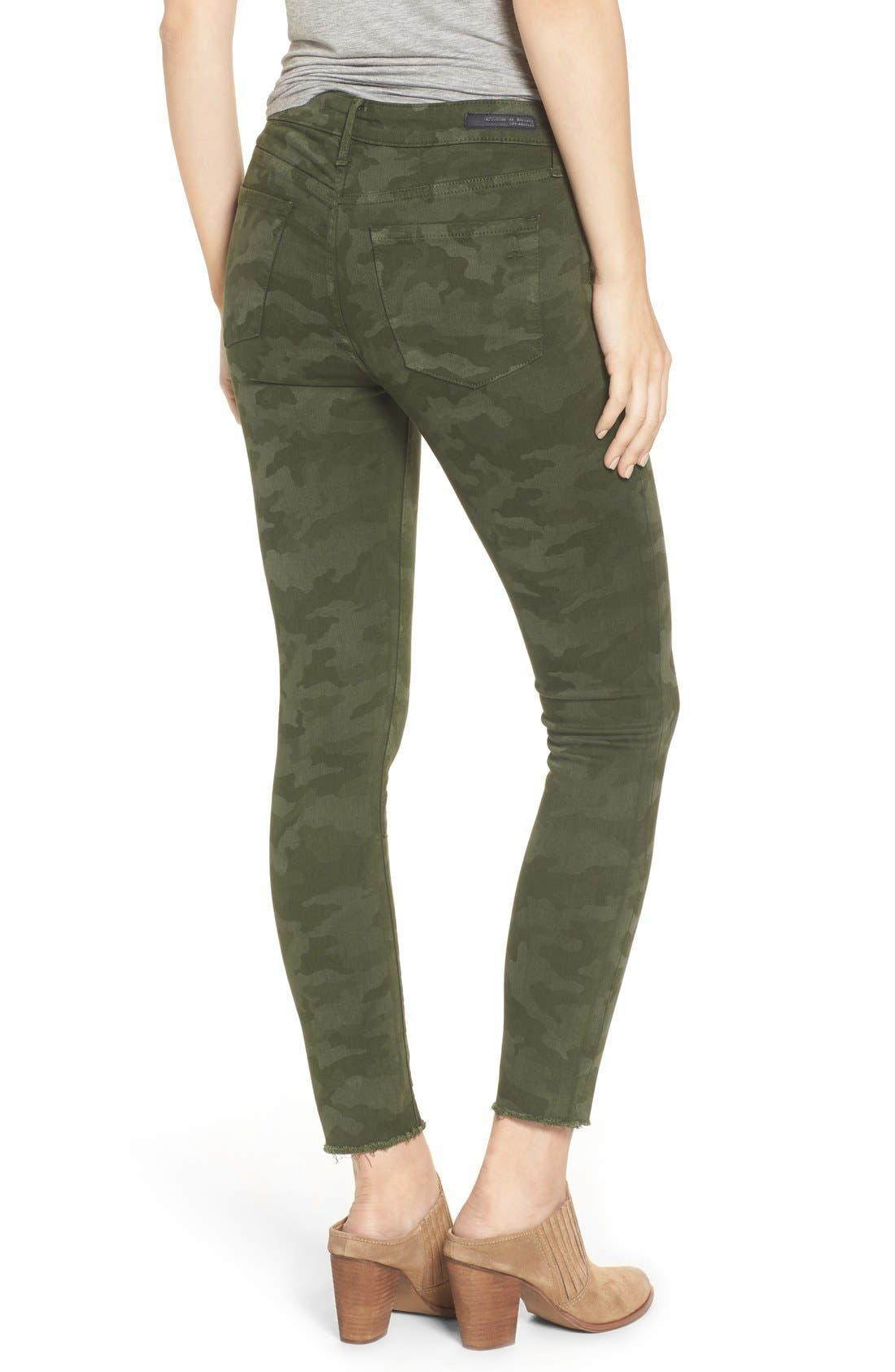 Alternate Image 2  - Articles of Society Carly Crop Jeans (Duke)