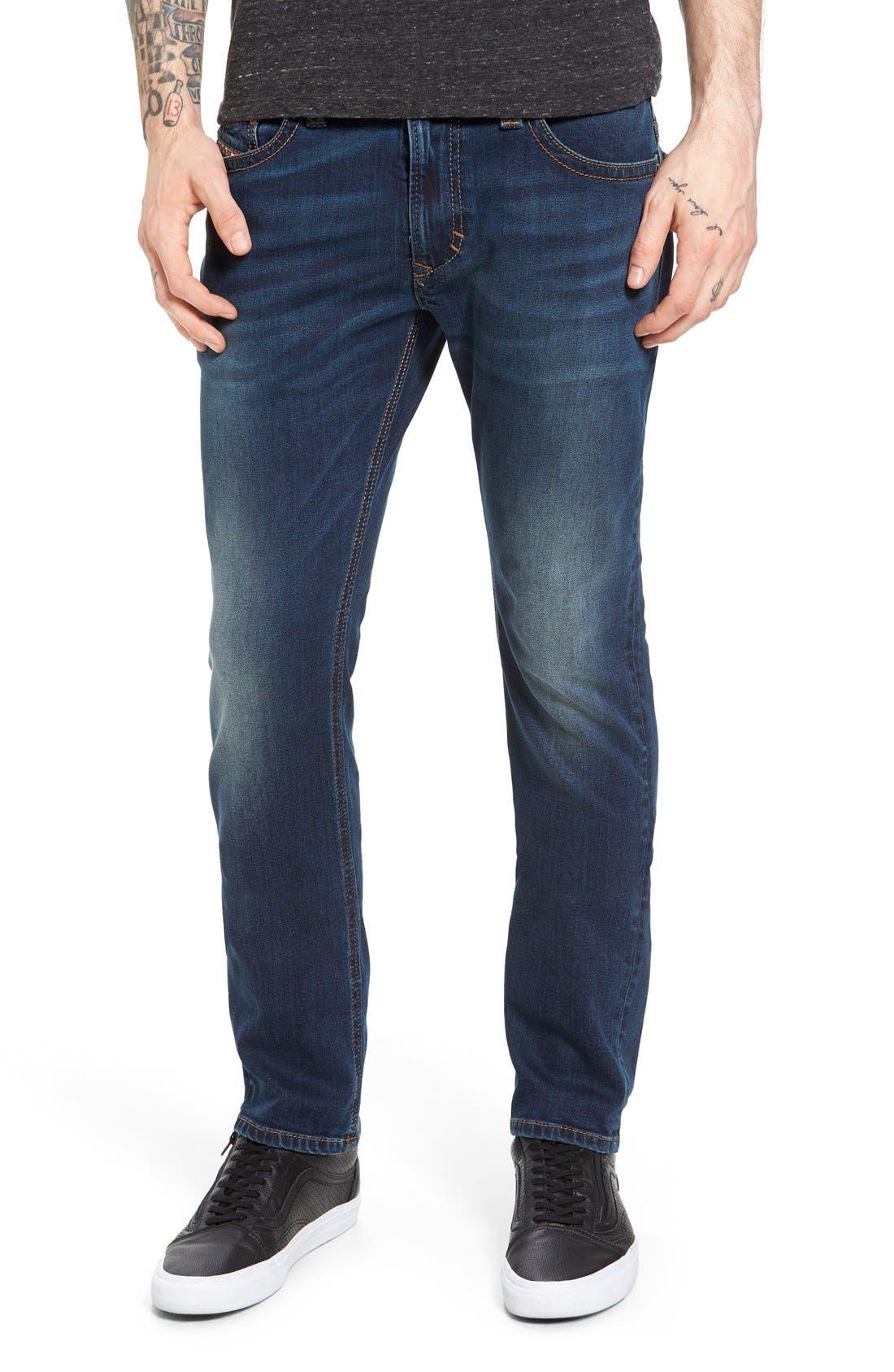 DIESEL® Thavar Slim Fit Jeans (084BU)