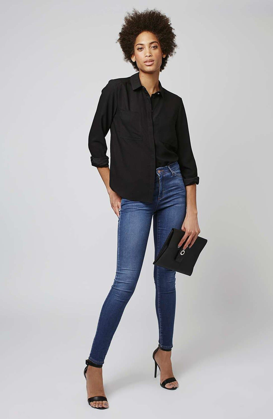 Alternate Image 2  - Topshop 'Leigh' Ankle Skinny Jeans
