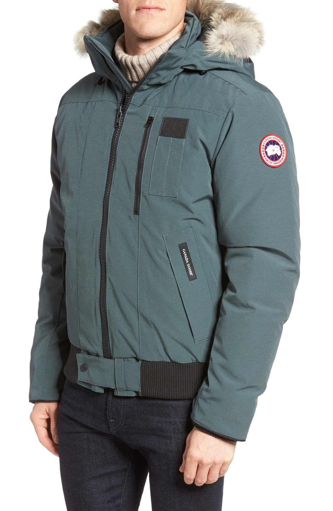 CANADA GOOSE 'Borden' Regular Fit Bomber Jacket with