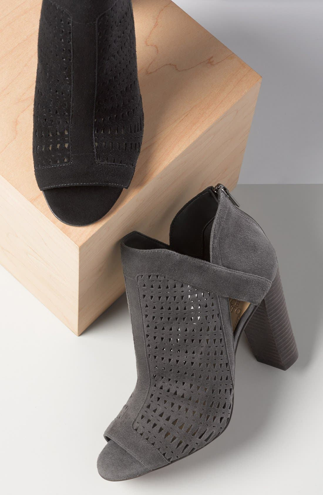 Alternate Image 5  - Vince Camuto Cranita Perforated Bootie (Women)