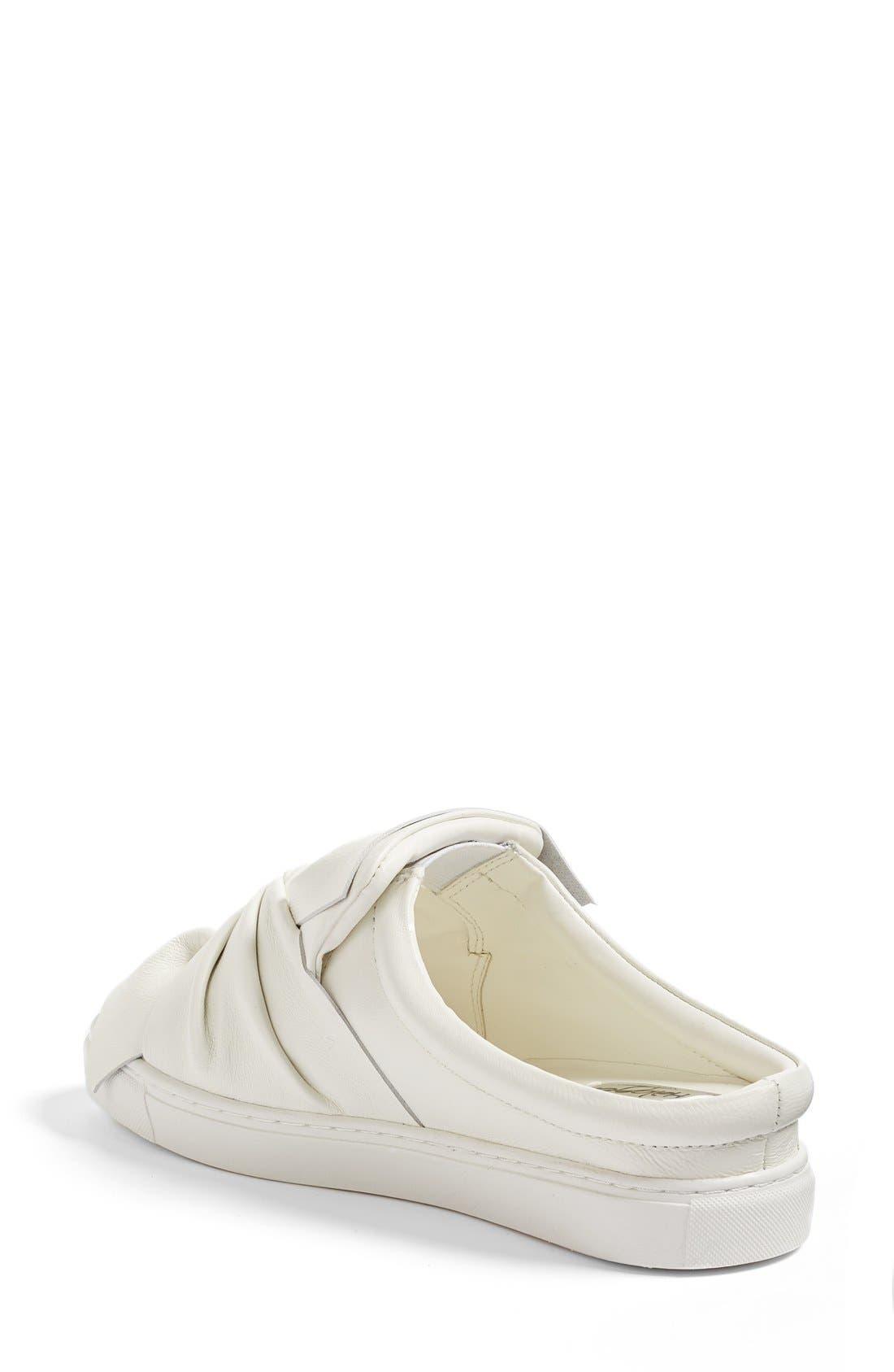 Alternate Image 2  - Halogen® Manny Knotted Slip-On Sneaker (Women)