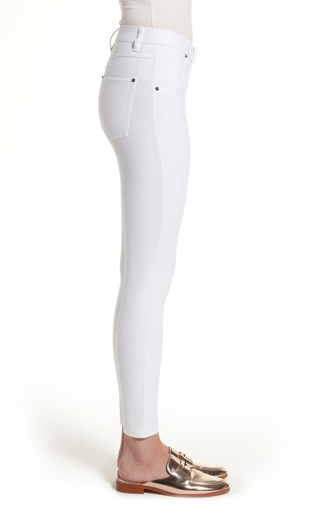Alternate Image 3  - Hue Essential Denim Leggings