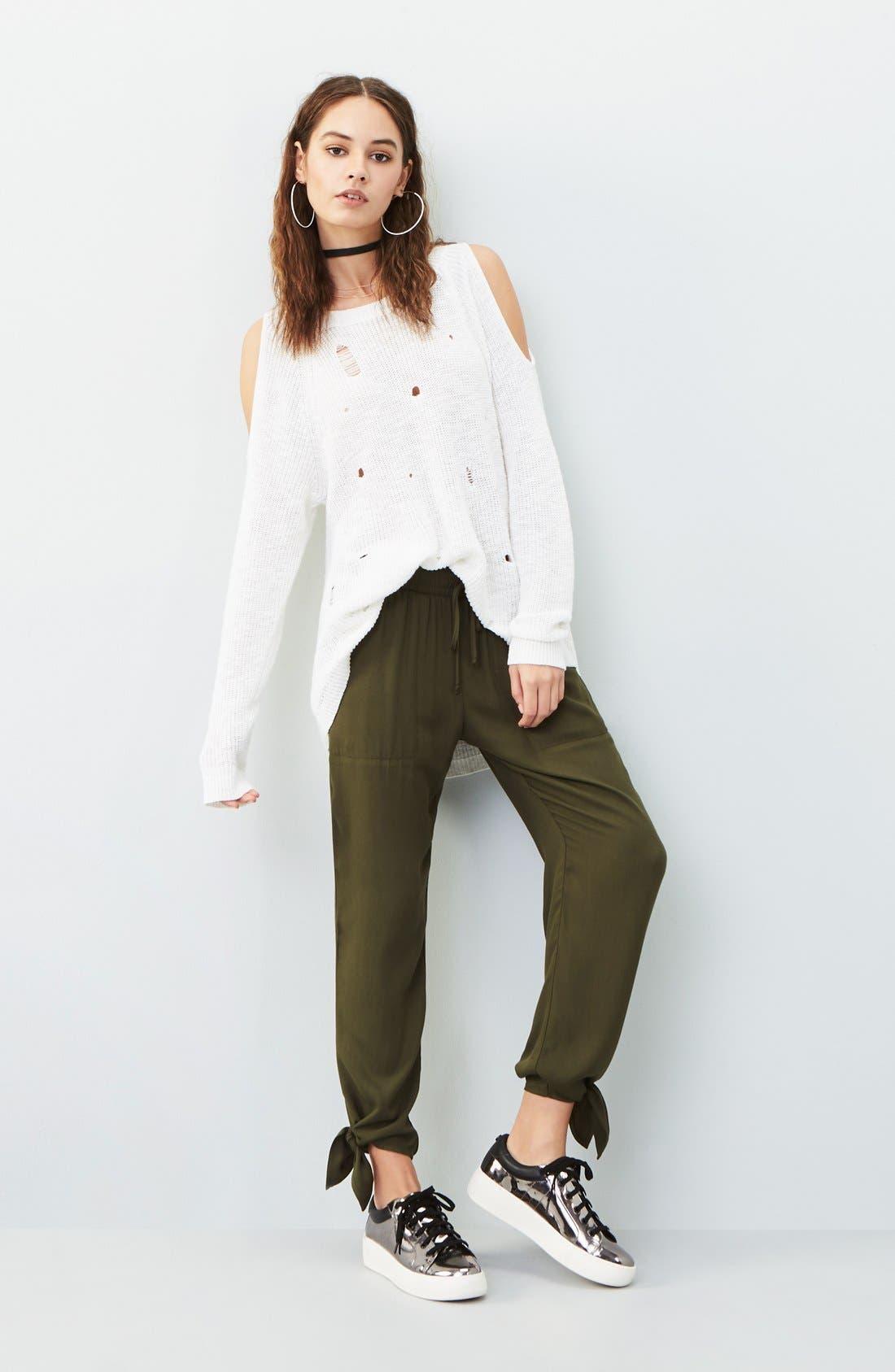 Alternate Image 2  - Socialite Ankle Tie Pants