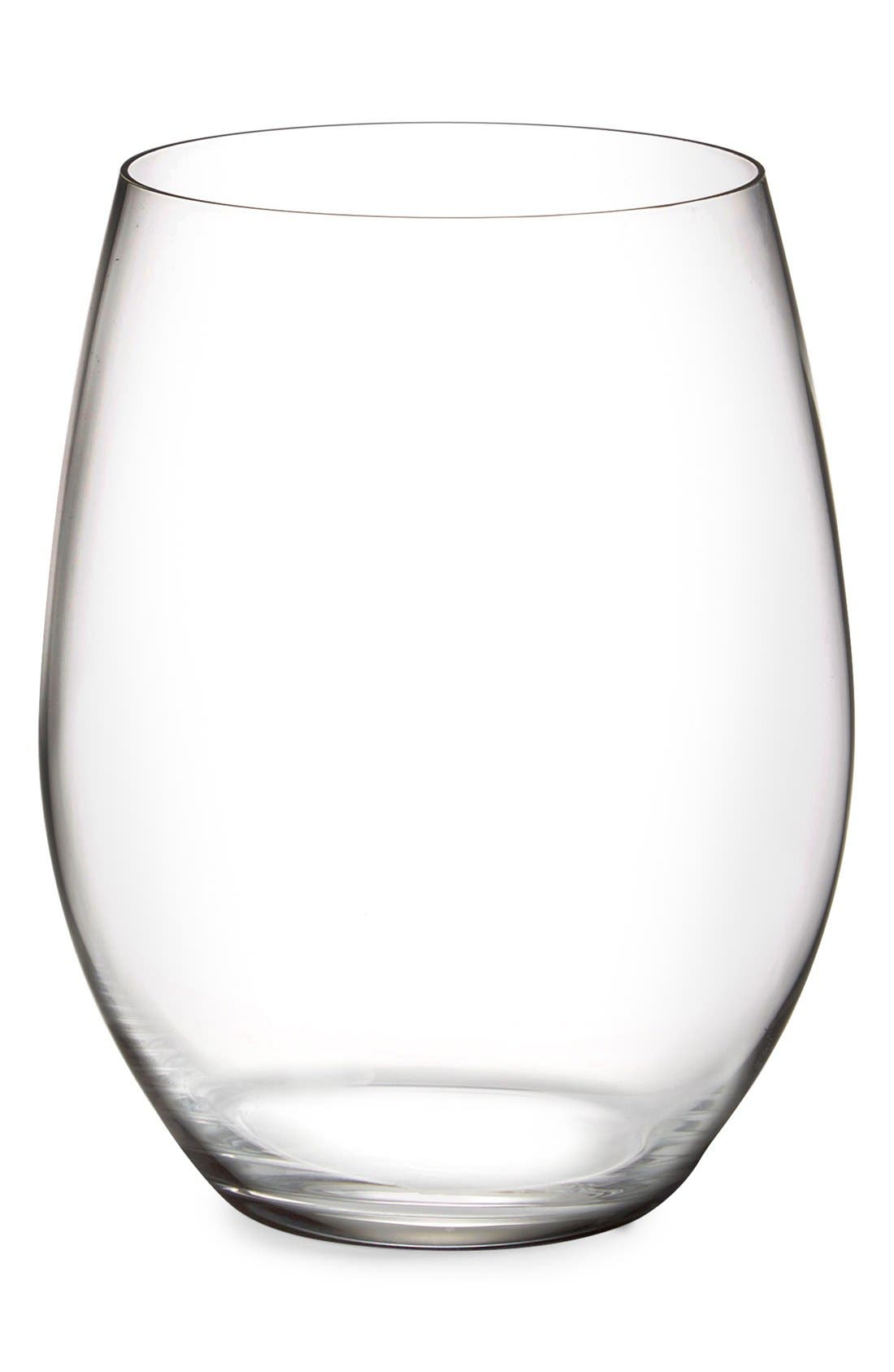 Riedel Set of 6 Stemless Cabernet & Merlot Glasses