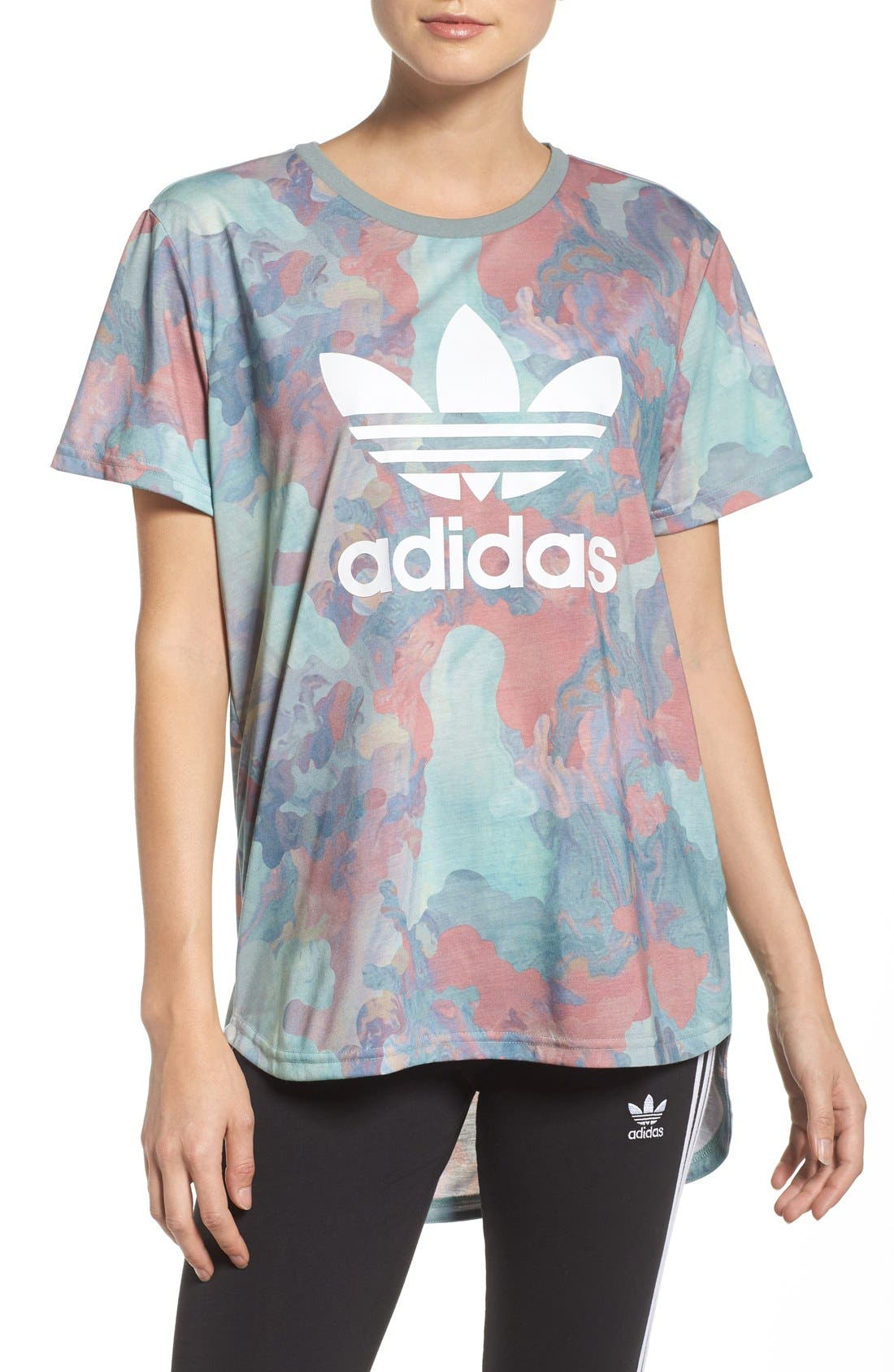 Alternate Image 1 Selected - Adidas Originals Boyfriend Tee
